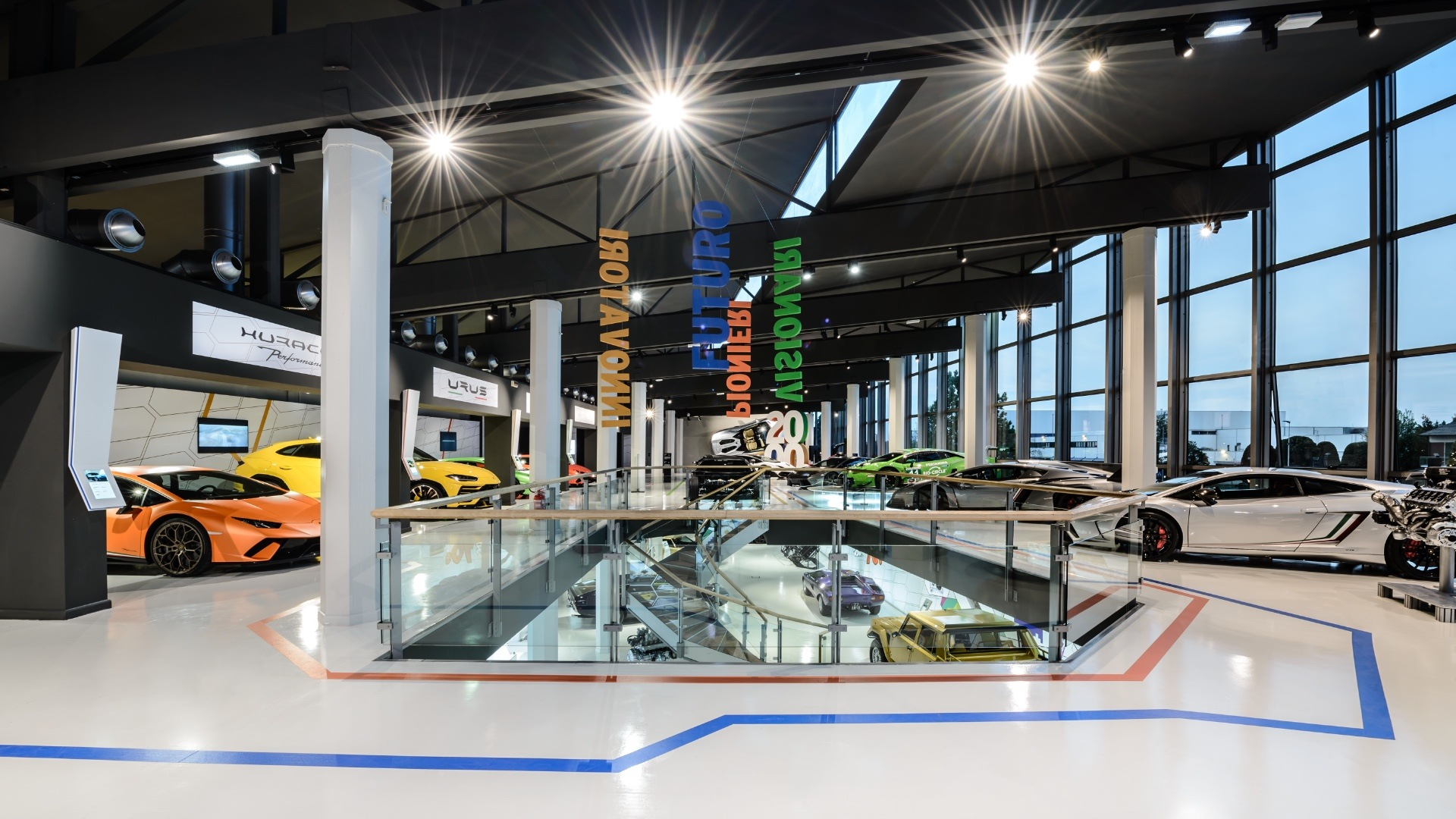 Lamborghini Museum MUDETEC guided tours