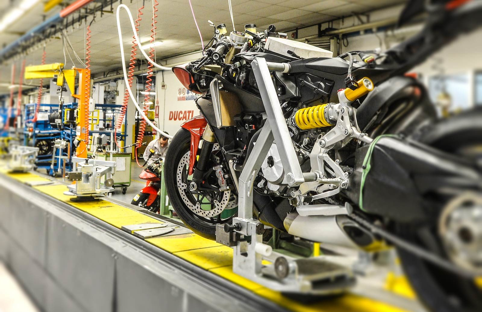 Ducati Factory guided tour