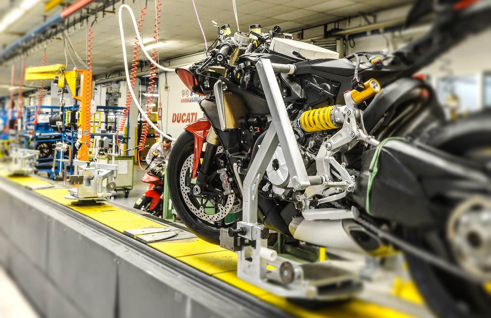 Visita guidata alla Fabbrica Ducati