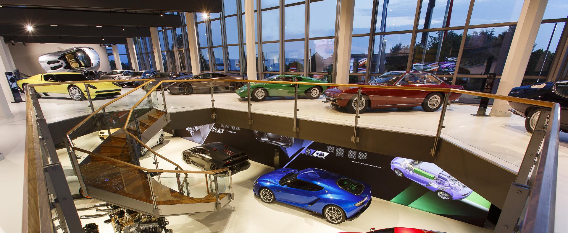 Visita guidata al Museo Lamborghini