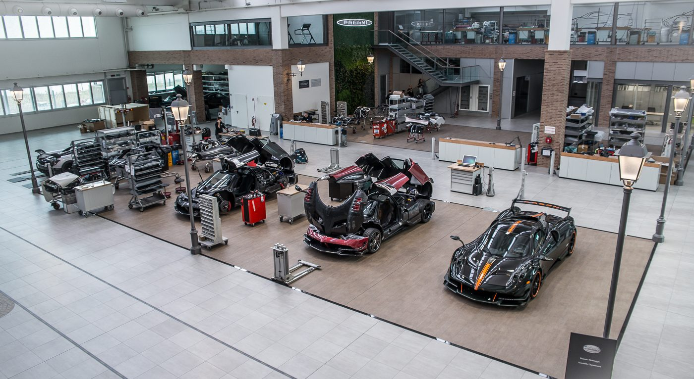 Pagani Museum and Factory tour
