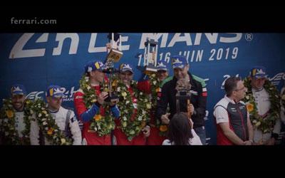 488 GTE a Le Mans (2019)