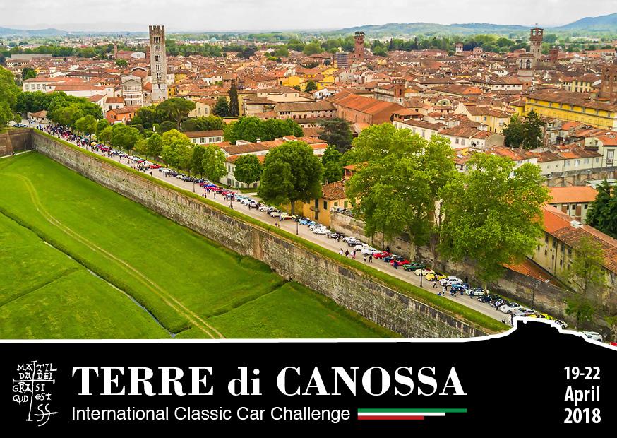 """Gran Premio Terre di Canossa: al via le iscrizioni alla celebre gara di """"regolarità classica""""."""