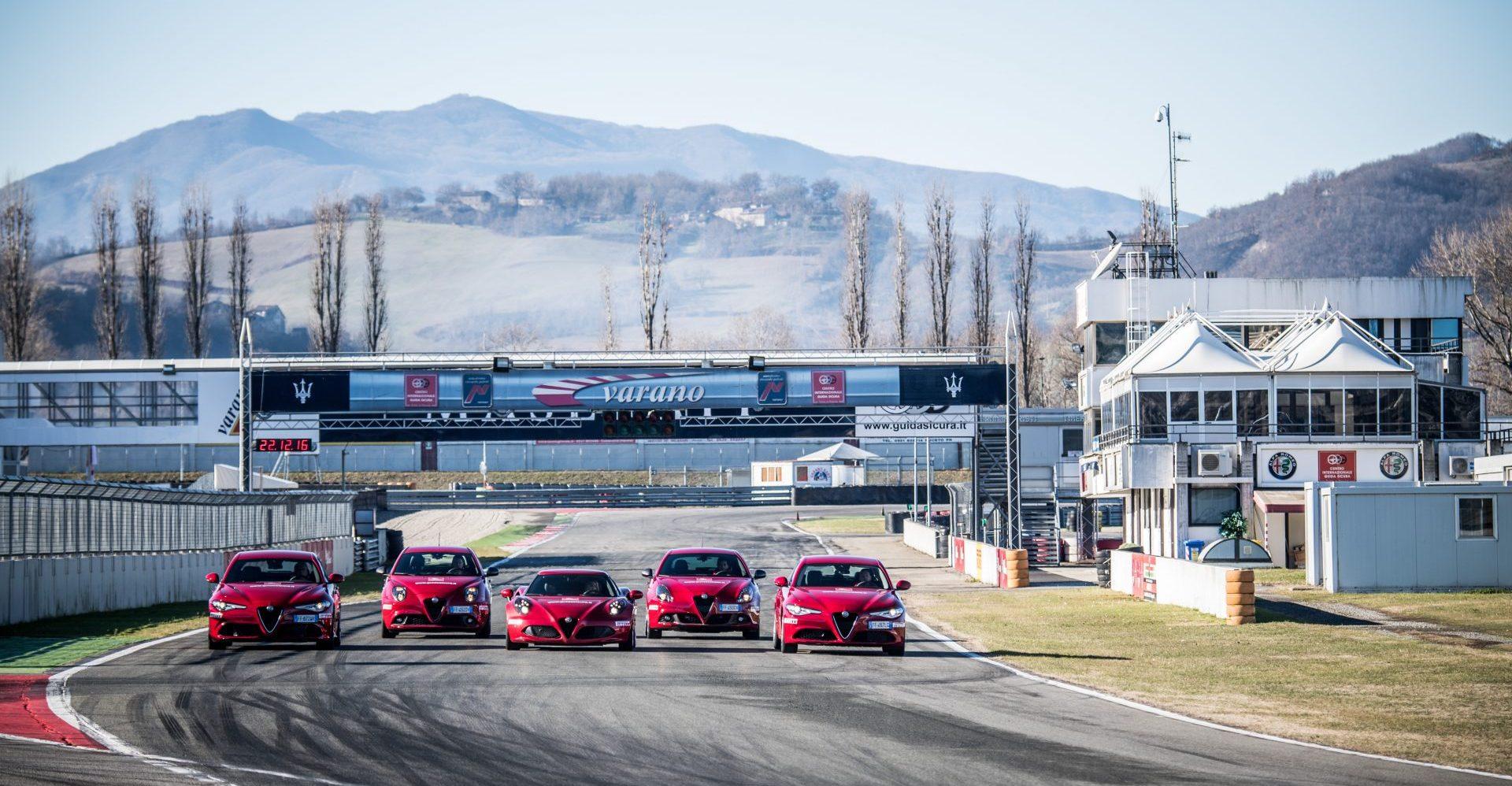 Corso di Guida Sicura Alfa Romeo