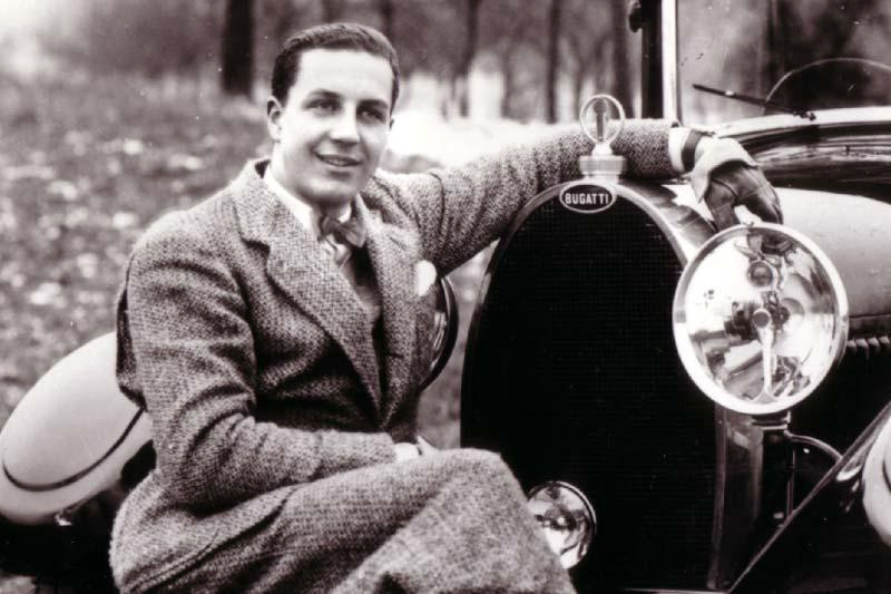Ettore Bugatti: l'attività creativa come manifestazione e coronamento della personalità