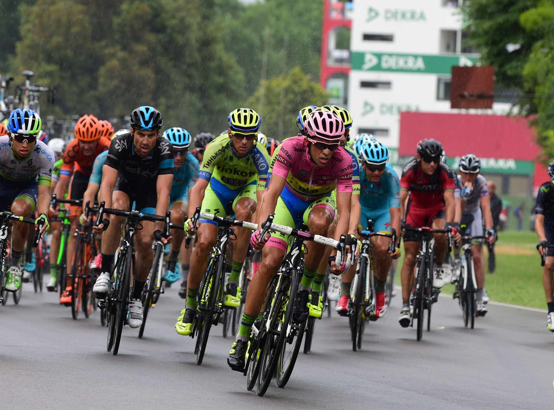 Arrivo Giro d'Italia Ciclismo Professionisti