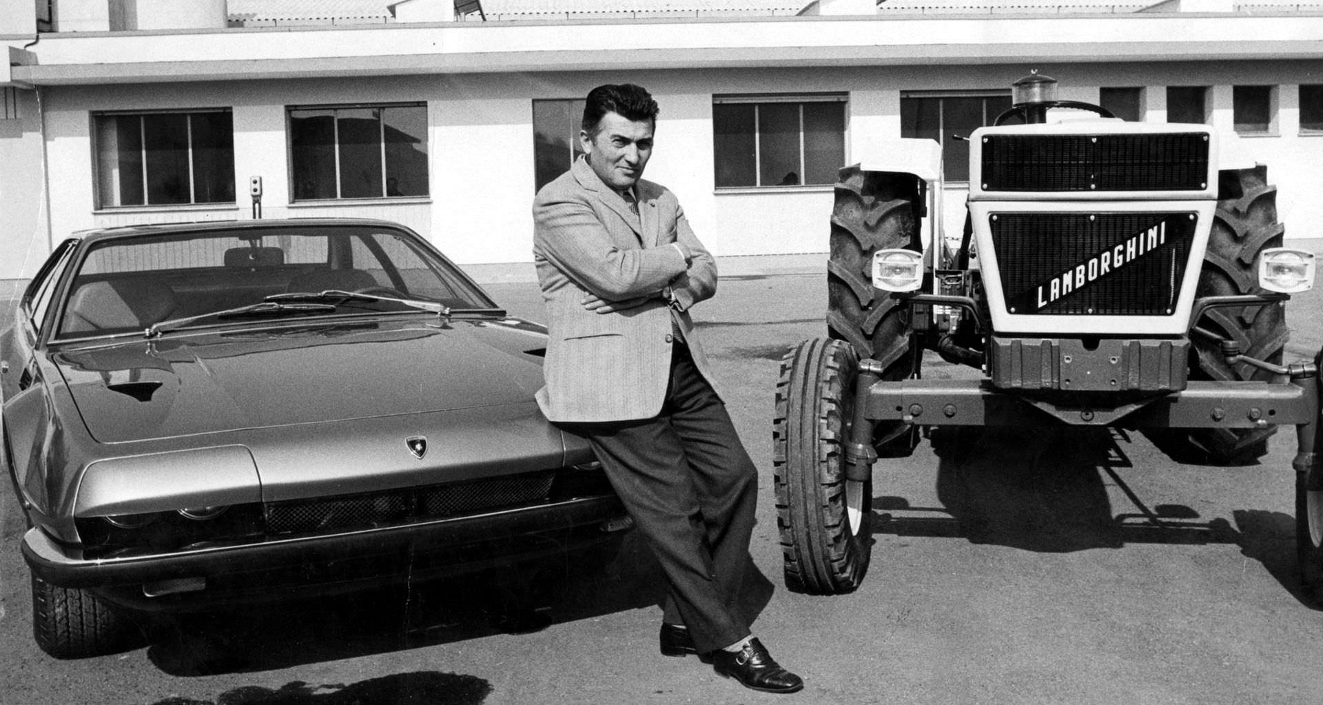 Ferruccio Lamborghini: una sfida da sogno.