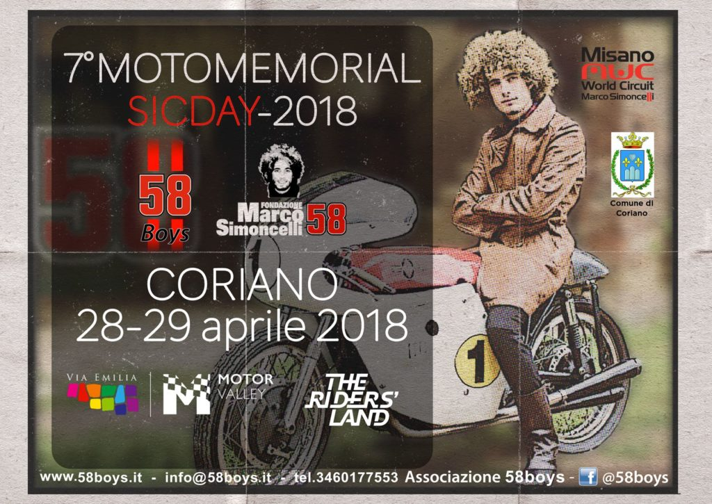 7° Motomemorial Sic Day 2018