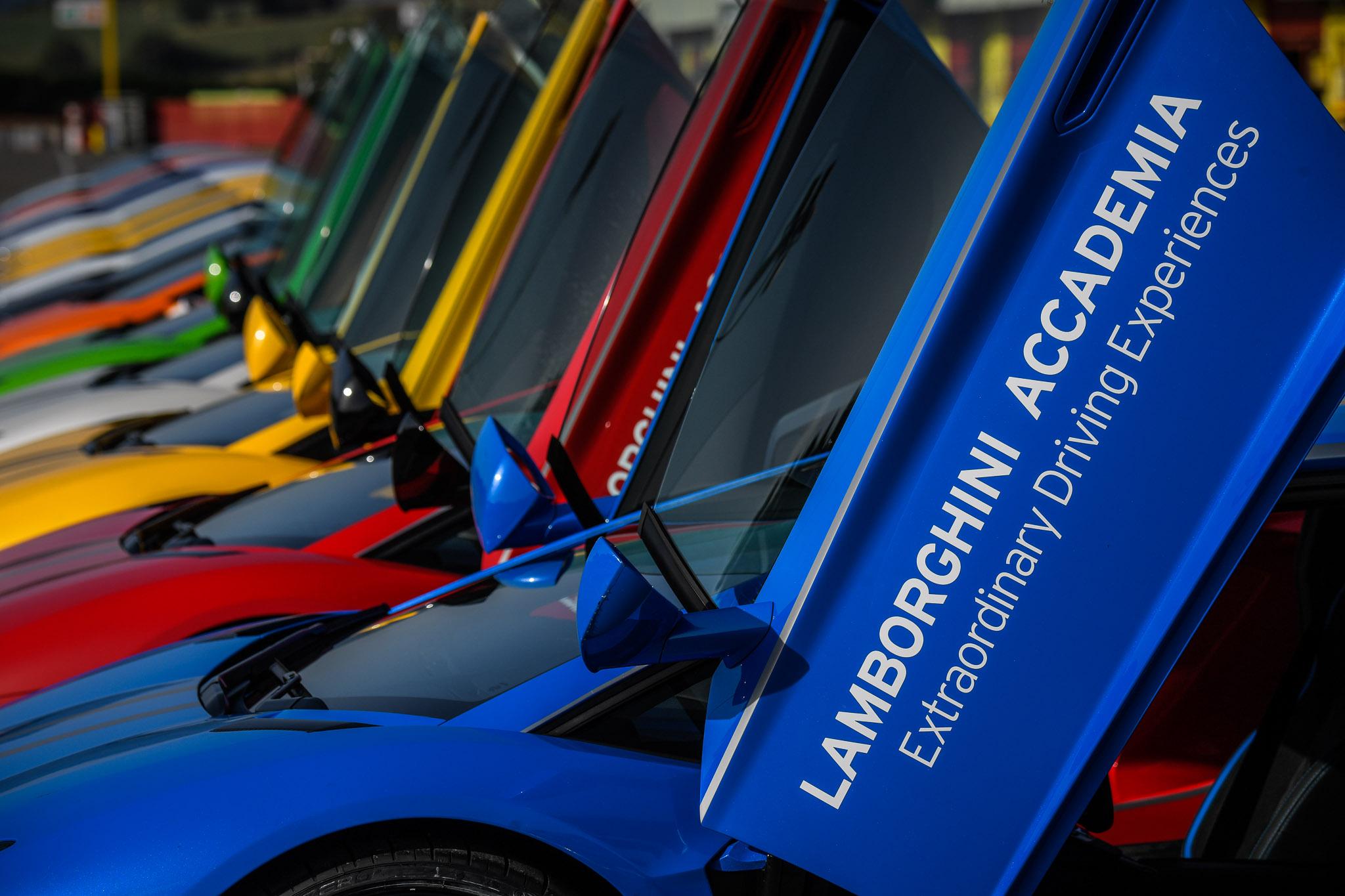 Lamborghini Accademia al Misano World Circuit - secondo turno
