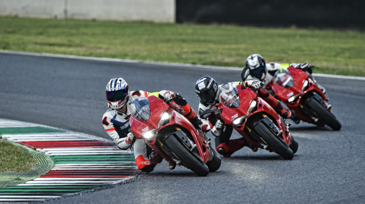 Track Master session 2 - Ducati Riding Experience