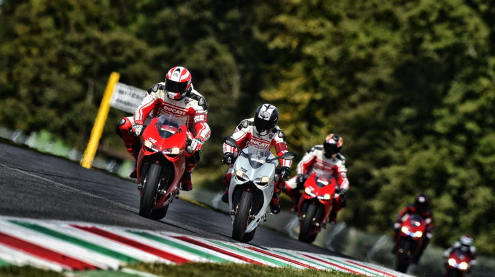 Track Master session 1 - Ducati Riding Experience