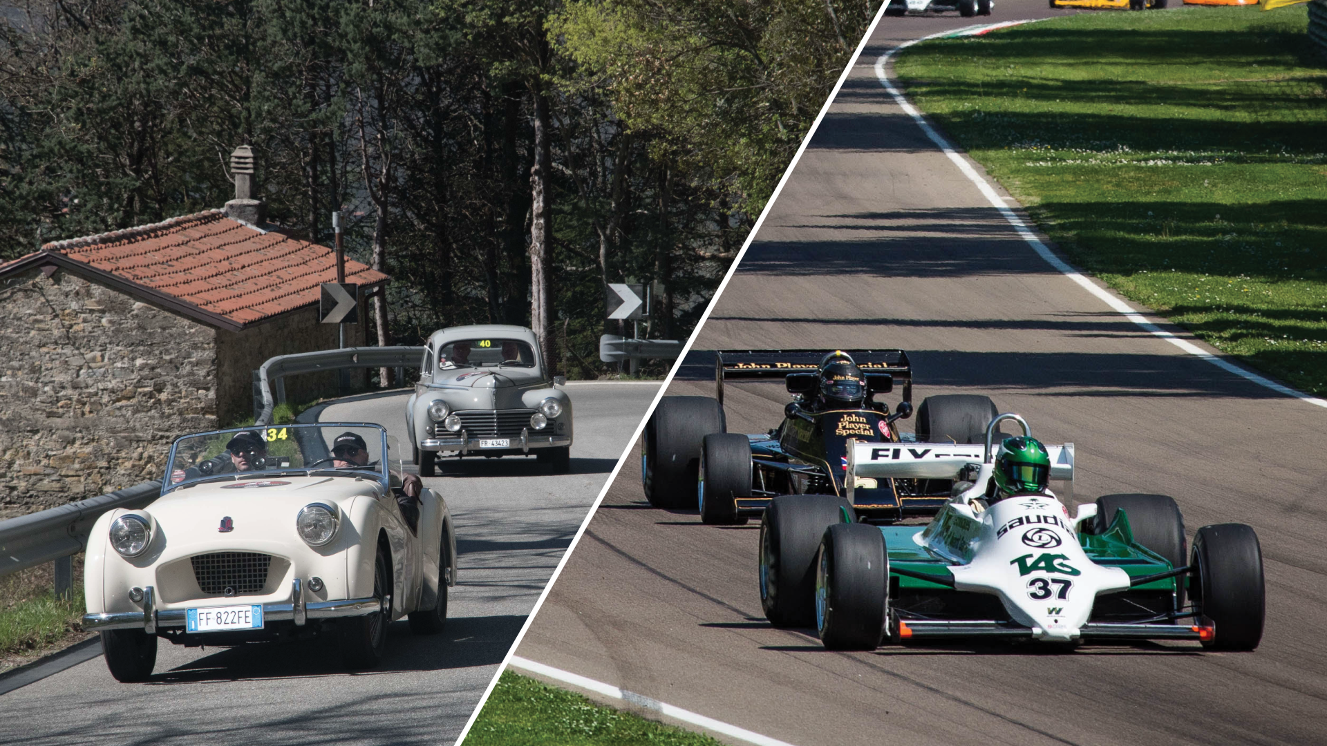 Great success at the weekend for the two heritage events: Terre di Canossa and Motor Legend Festival.