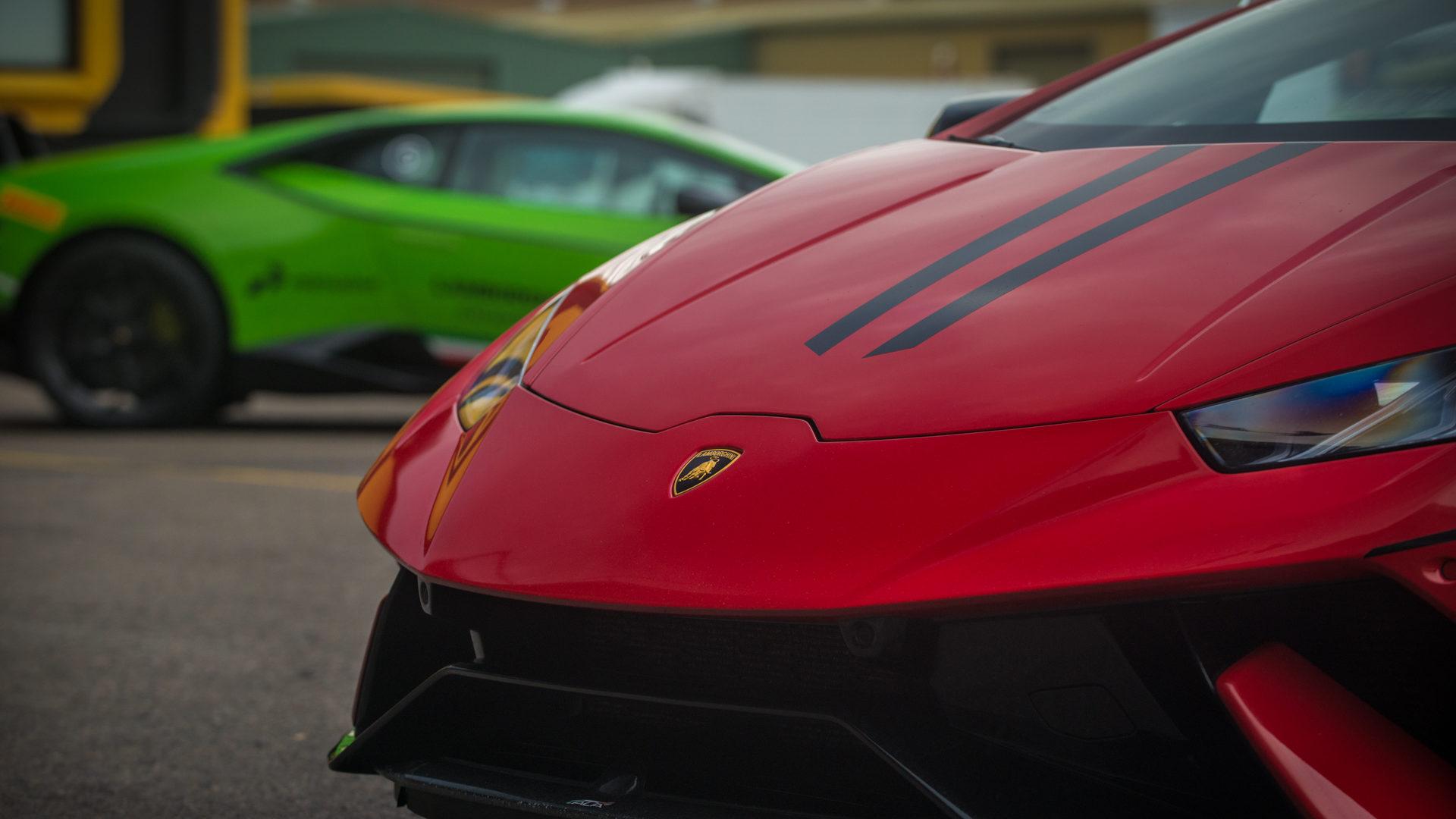 Lamborghini Accademia al Misano World Circuit - primo turno