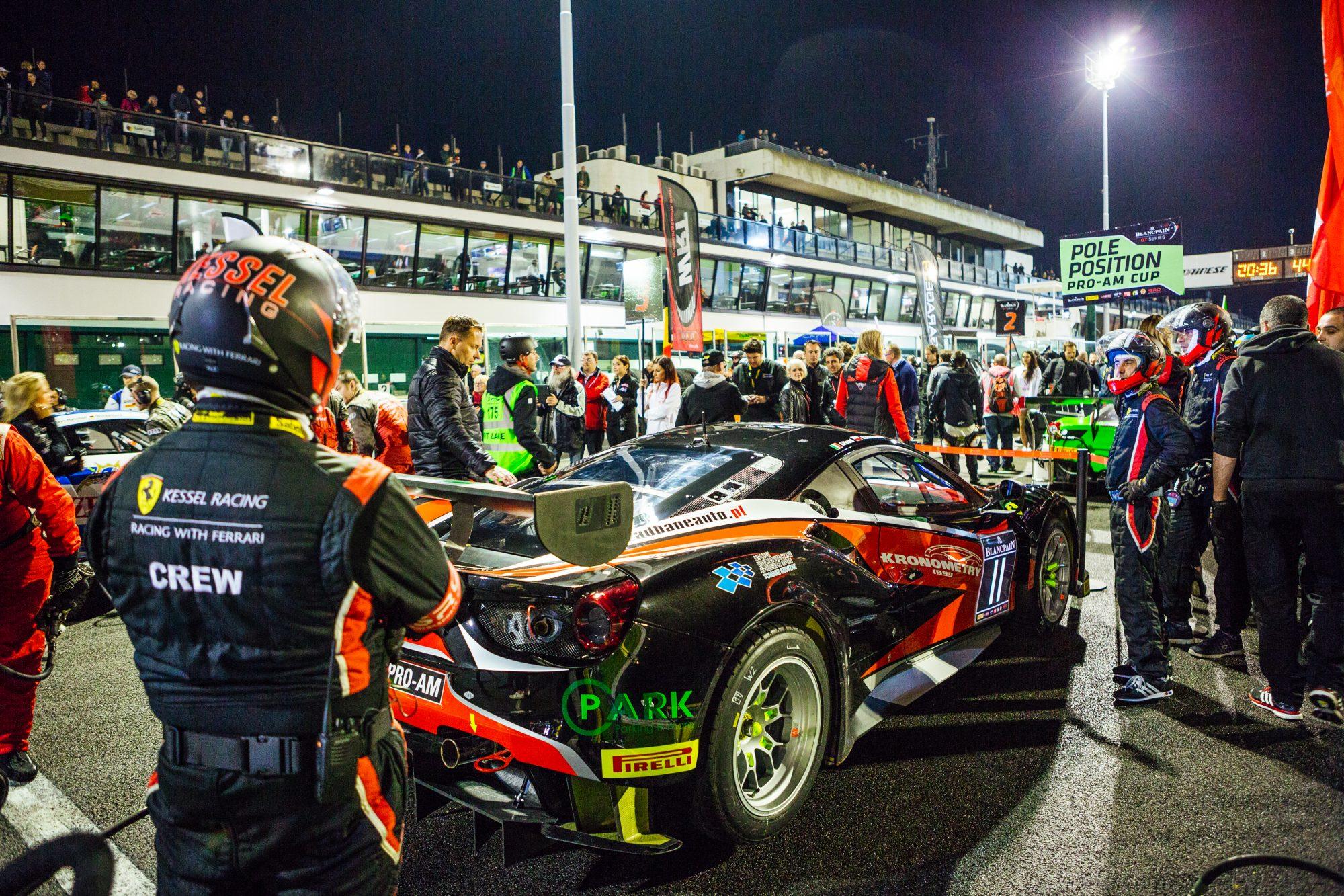 Blancpain GT Series: al Misano World Circuit tre giorni di adrenalina con le fuoriserie.