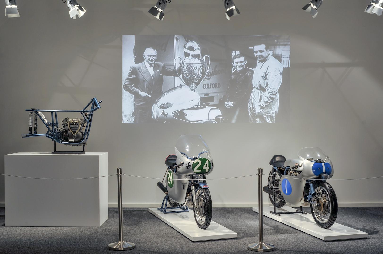 Le Bicilindriche Desmo del giovane Hailwood - Prima mostra temporanea al Museo Ducati