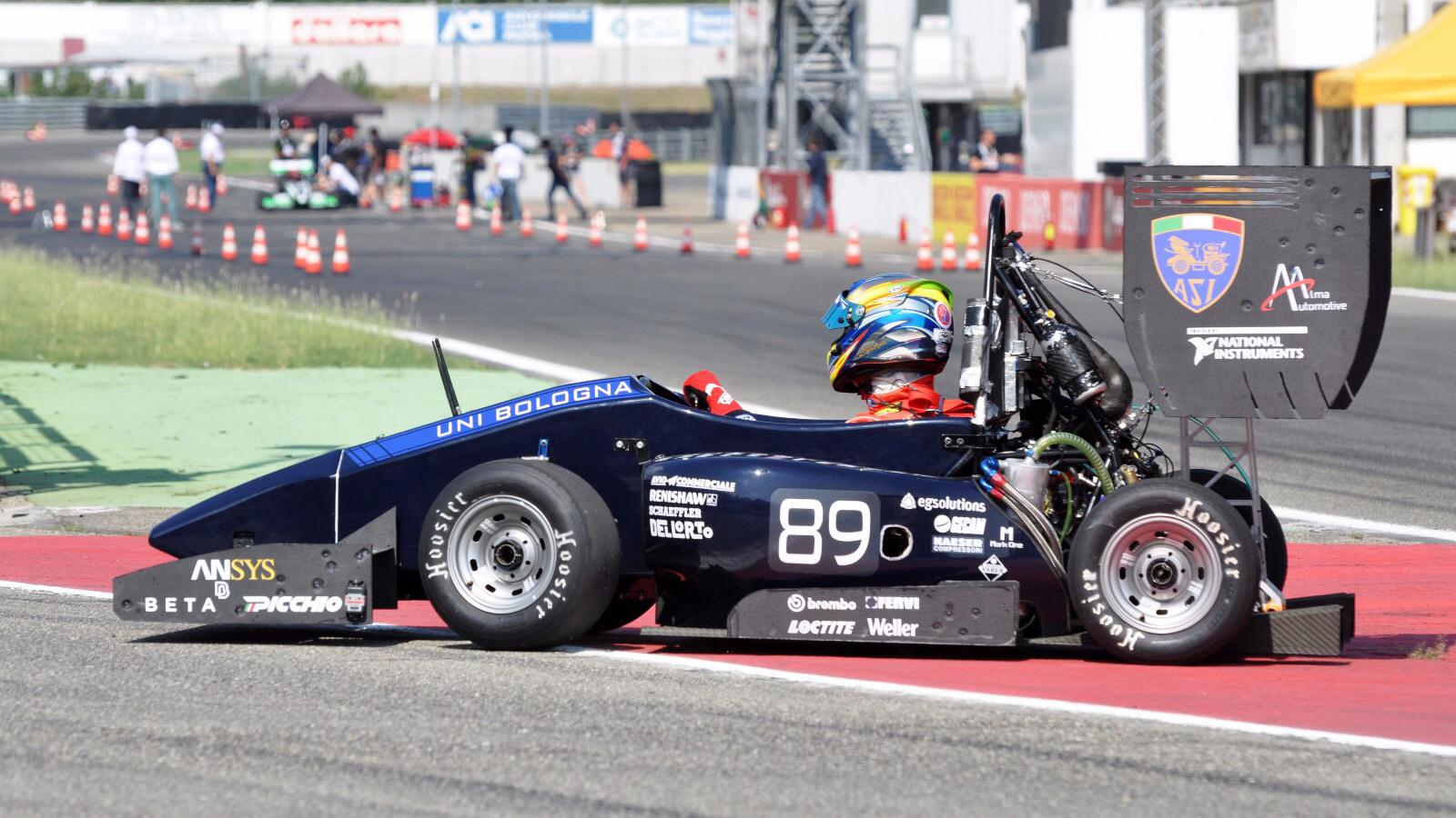Unibo Motorsport: la ricerca degli studenti applicata su auto e moto da corsa.