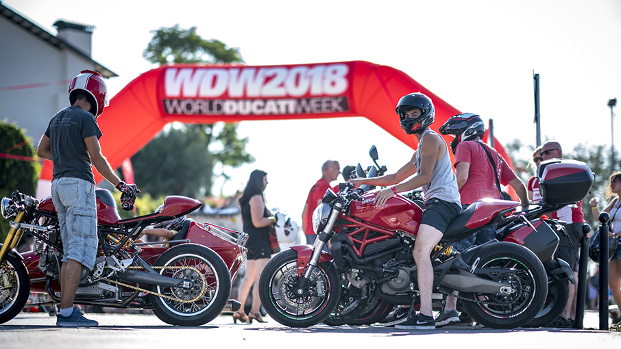 "WDW 2018: a Misano tre giorni all'insegna del ""Sound of Passion"" made in Borgo Panigale."