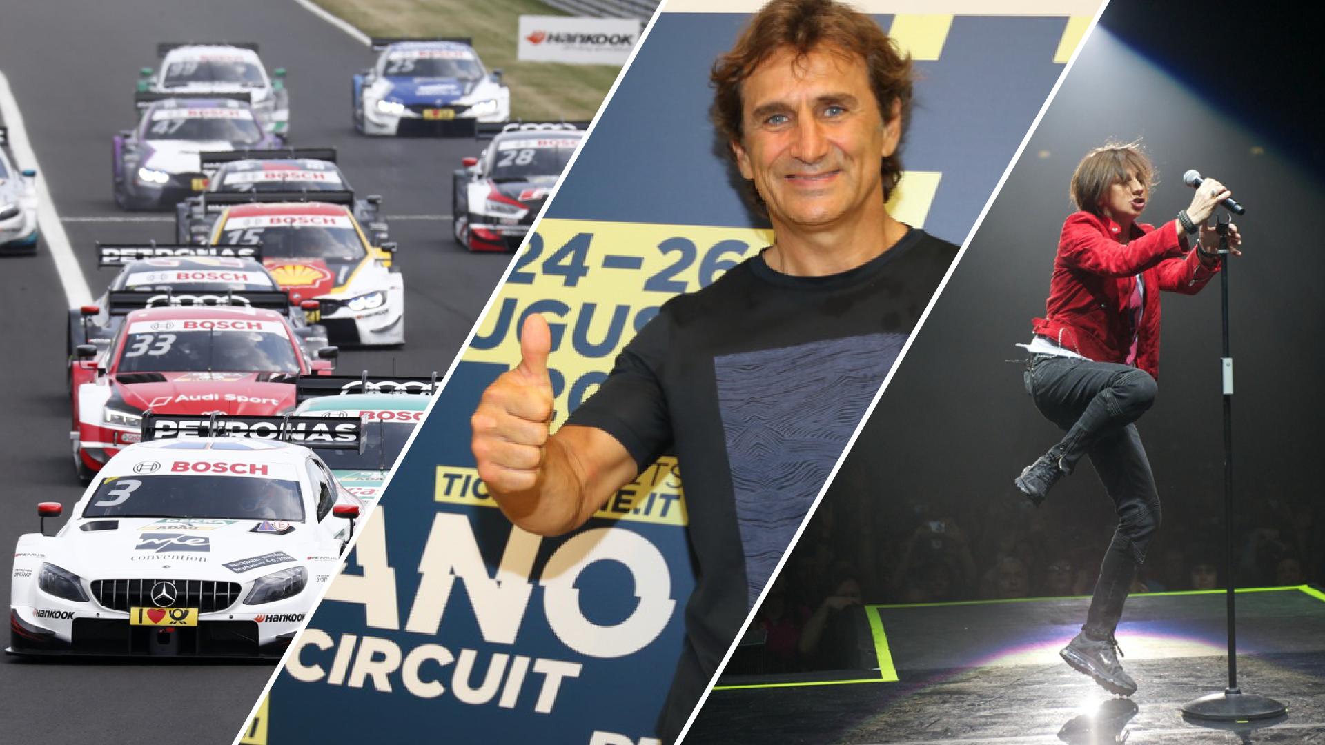 Tutto pronto per il DTM al Misano World Circuit: spettacolo in pista e non solo col concerto di Gianna Nannini.