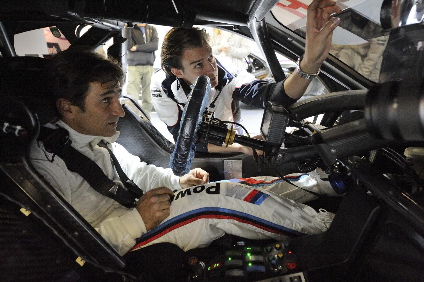 Sky intervista Alex Zanardi: evento a porte aperte a Riccione in occasione del DTM di Misano.