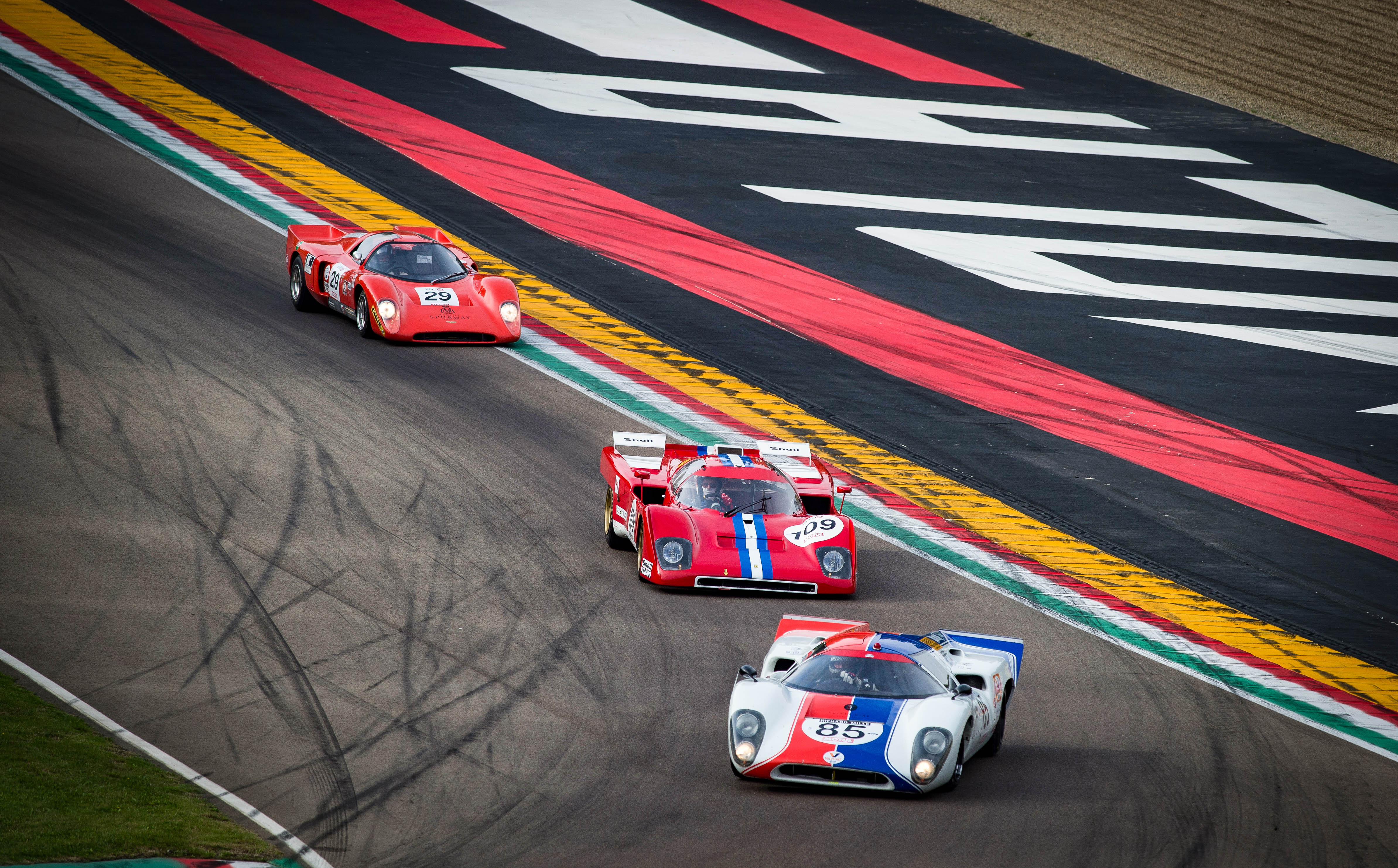 Torna il fascino dell'Imola Classic all'Autodromo Enzo e Dino Ferrari.