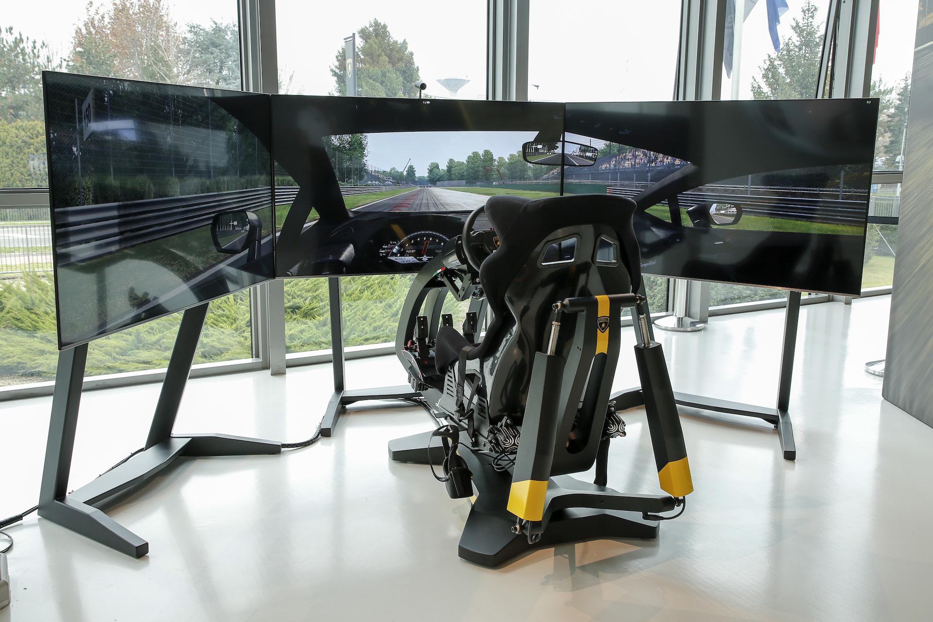 Al Museo Lamborghini arriva il nuovo simulatore di guida.