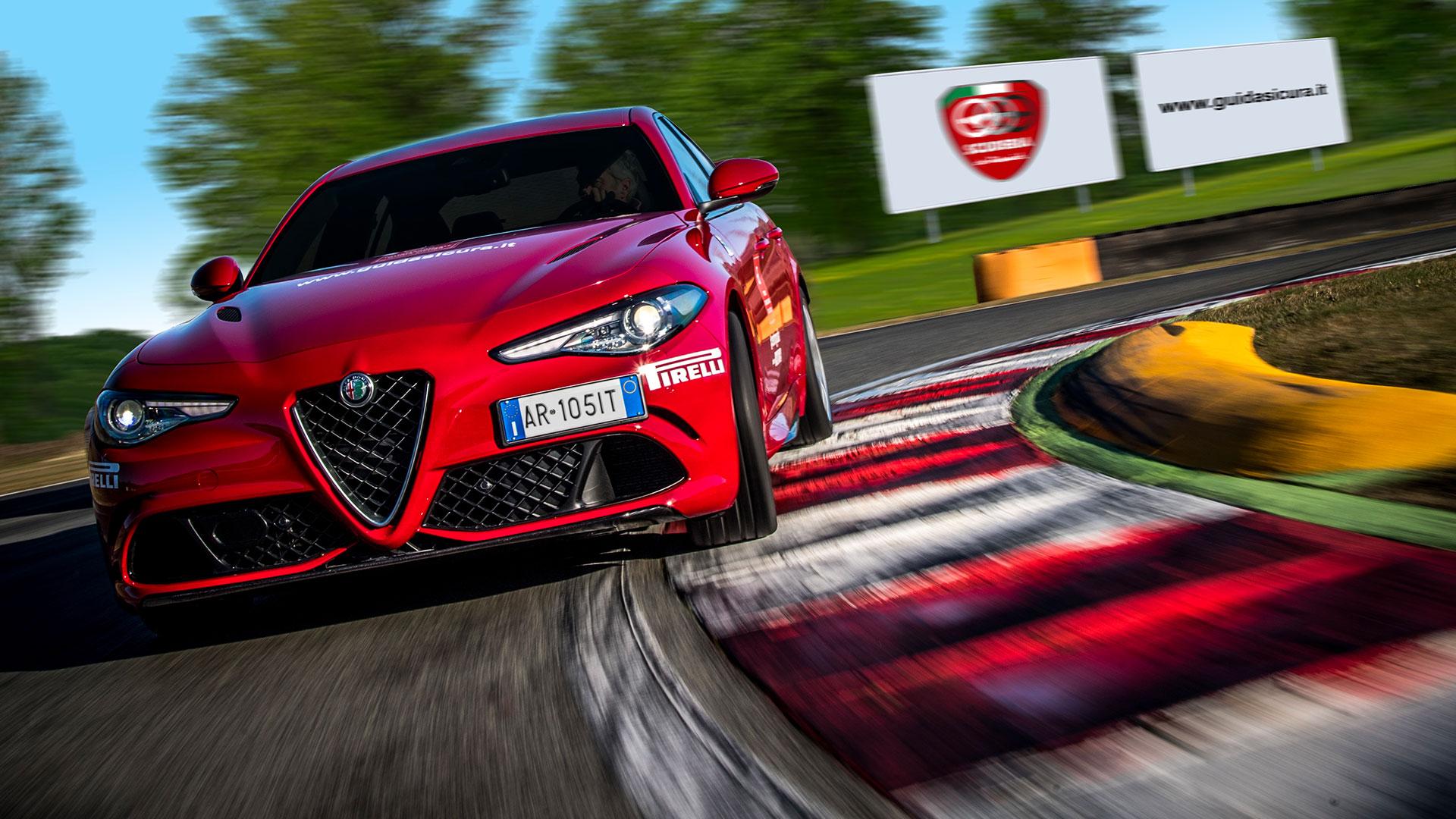 Corso di guida avanzata Alfa Romeo