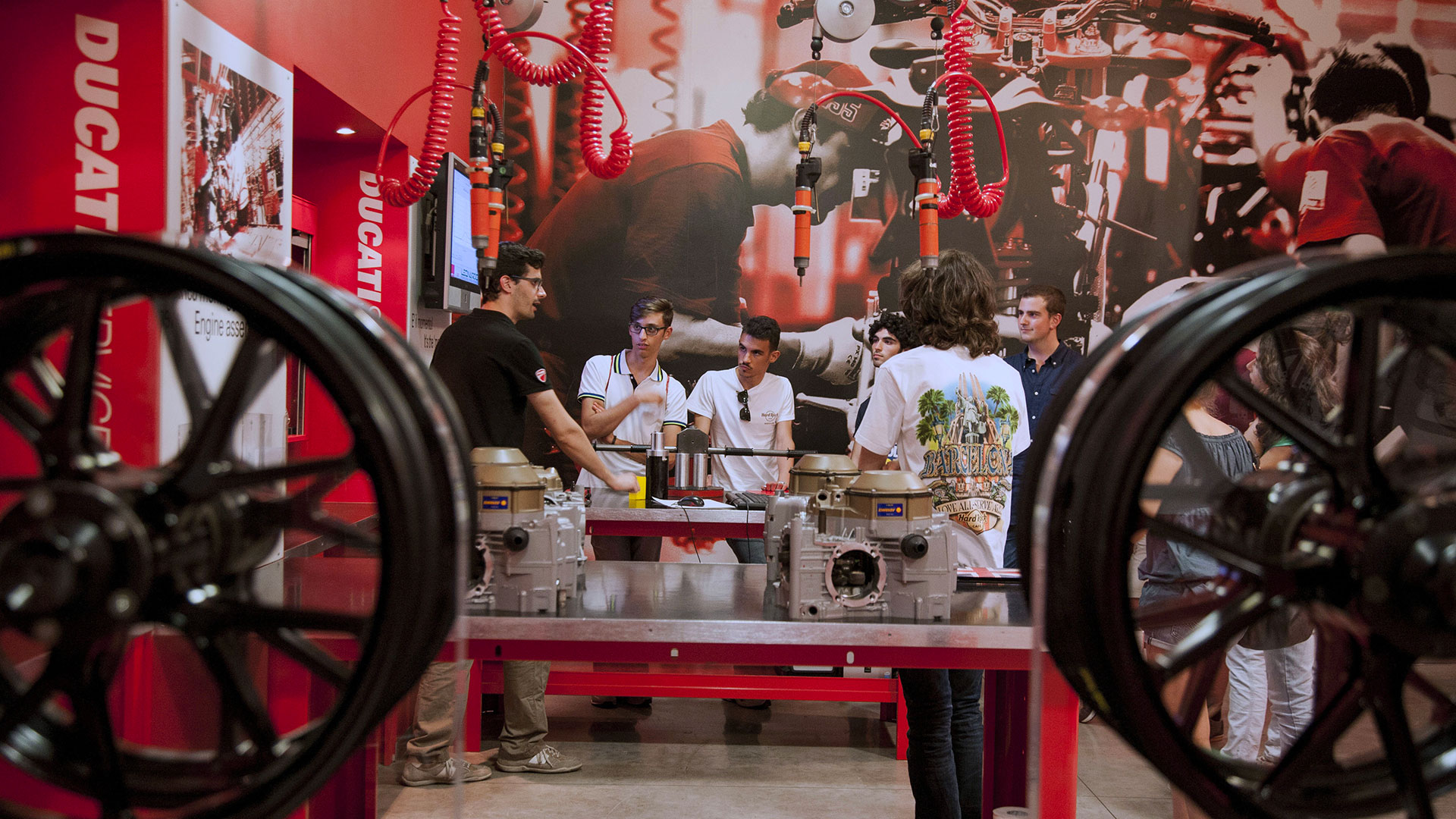 Ducati for Education - education and training for young people.