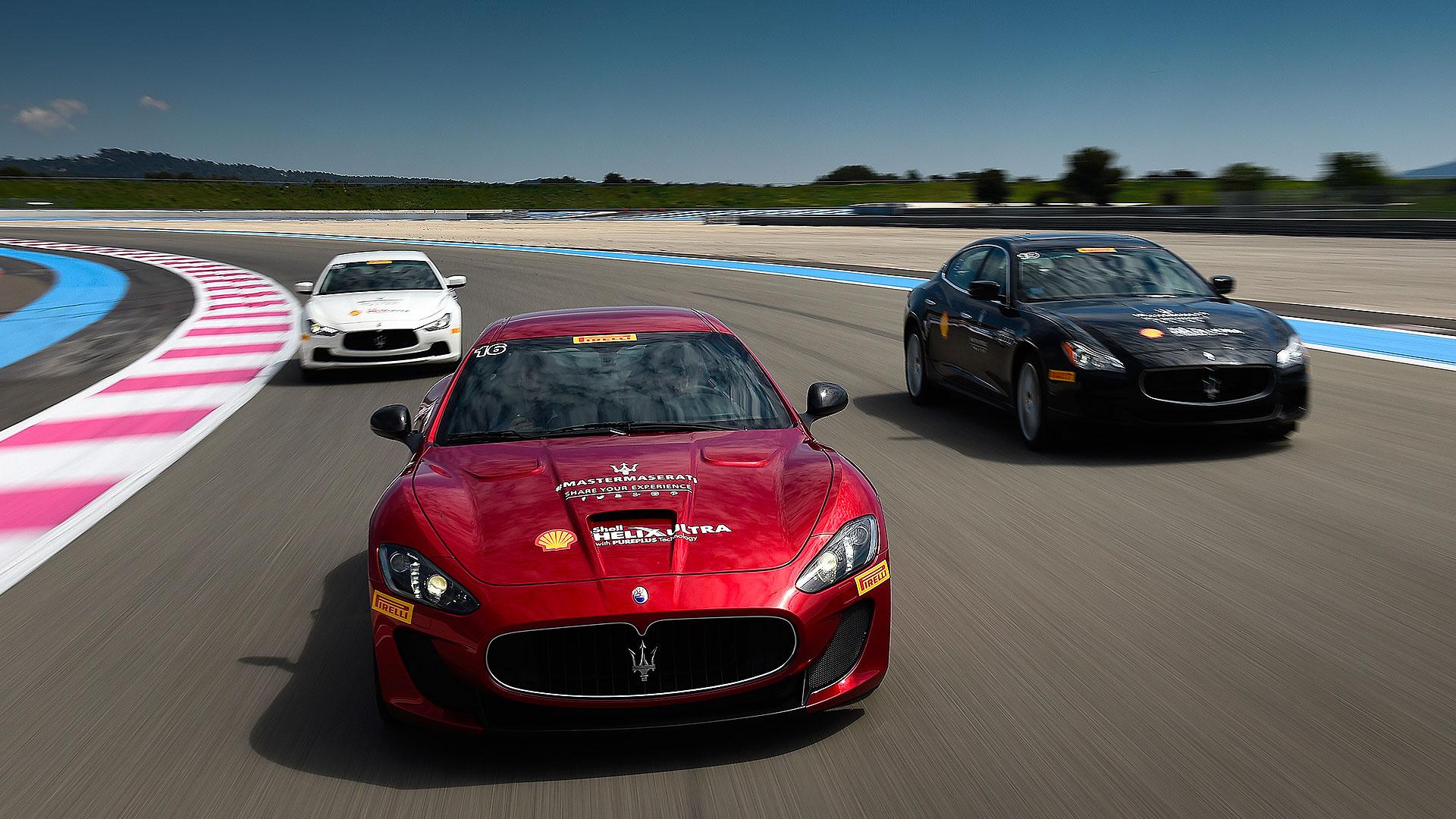 Master Maserati - Qualifying