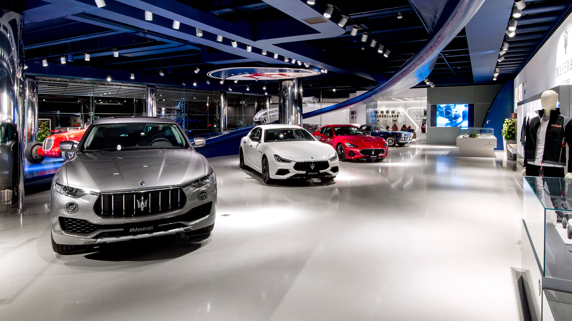 Special openings showroom Maserati
