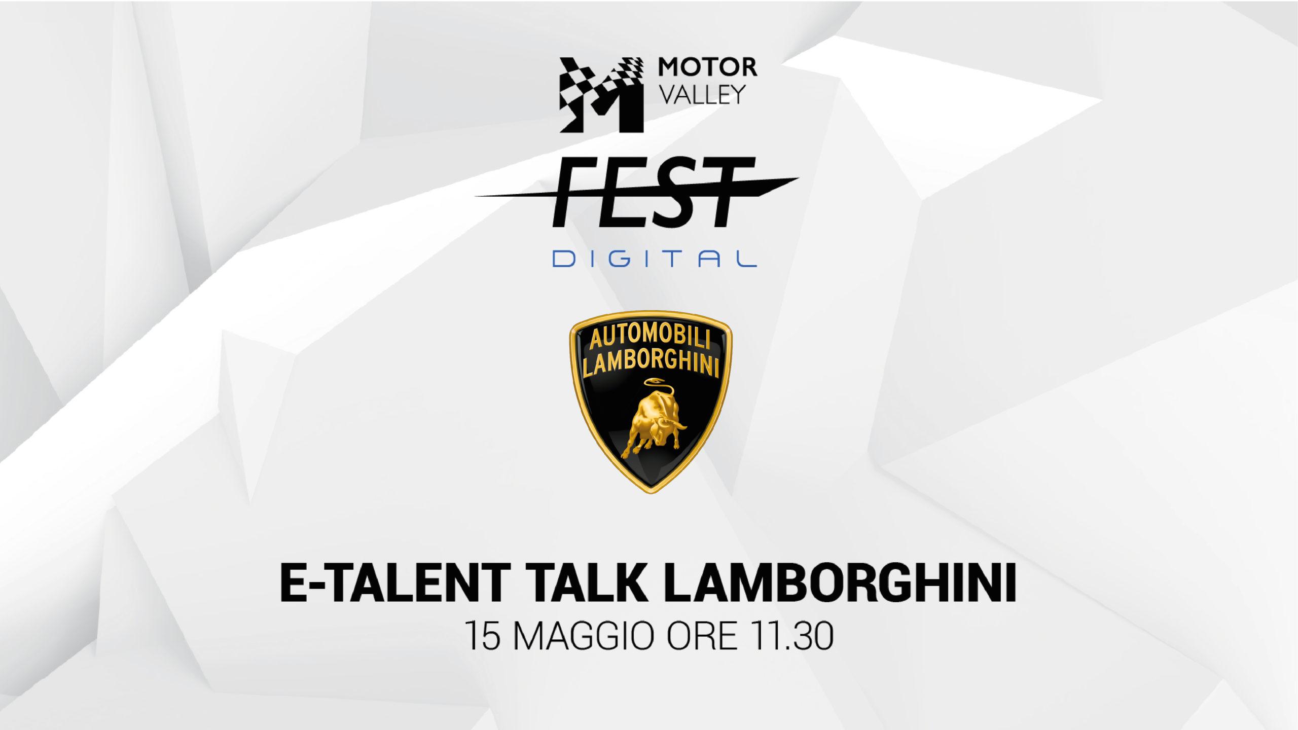 E- Talent Talk - Lamborghini