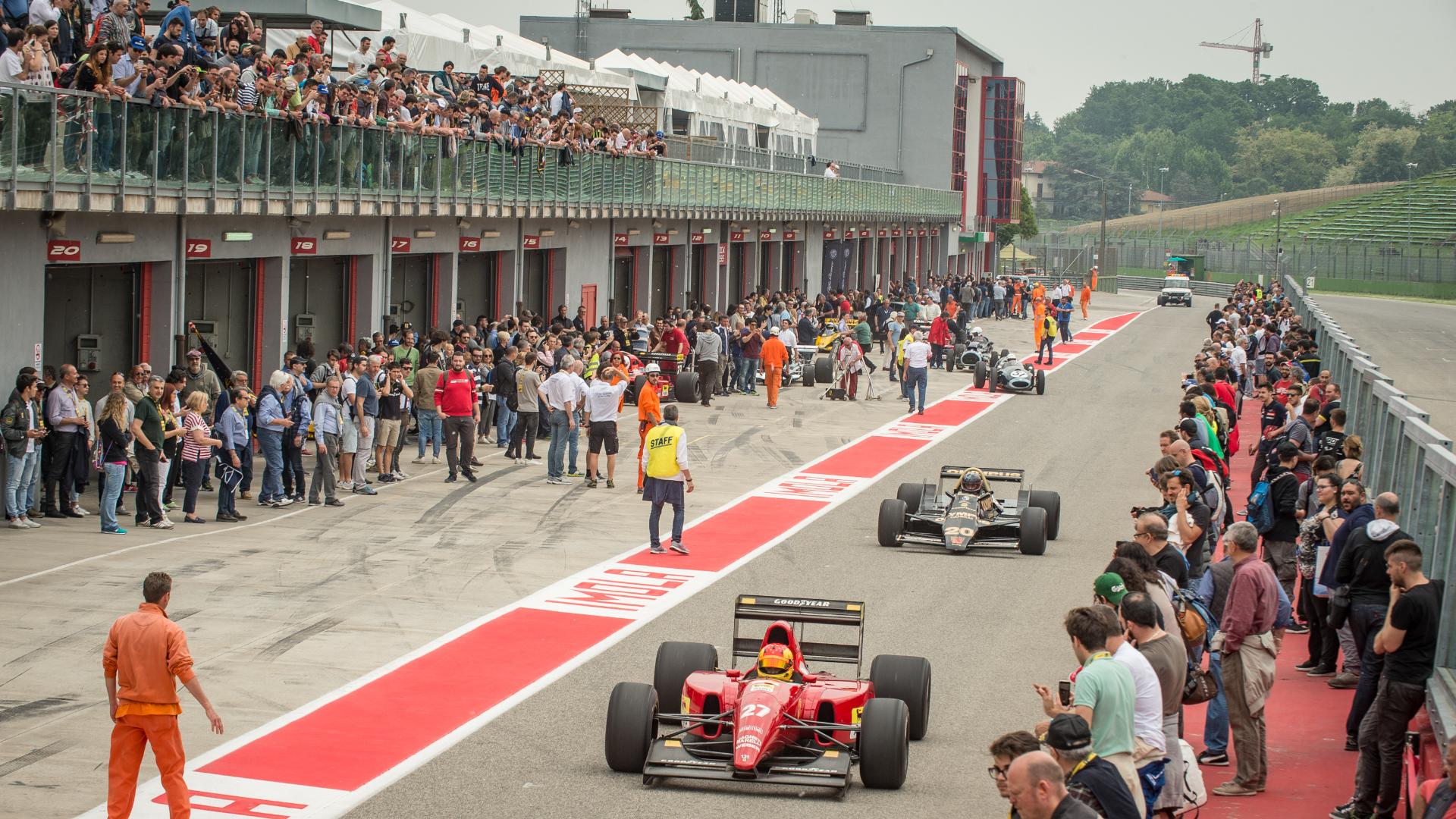 Al via la quarta edizione dell'Historic Minardi Day all'Autodromo Internazionale Enzo e Dino Ferrari di Imola.
