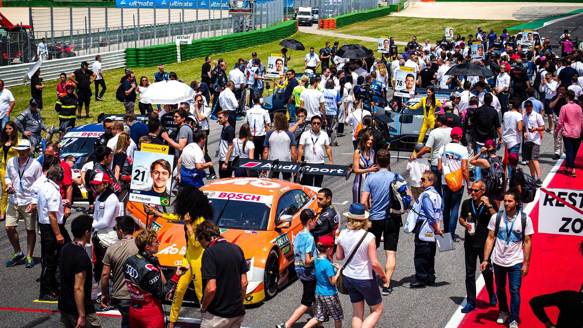 Con la vittoria diNico Muller in gara 2 si chiude il weekend del DTM a Misano.