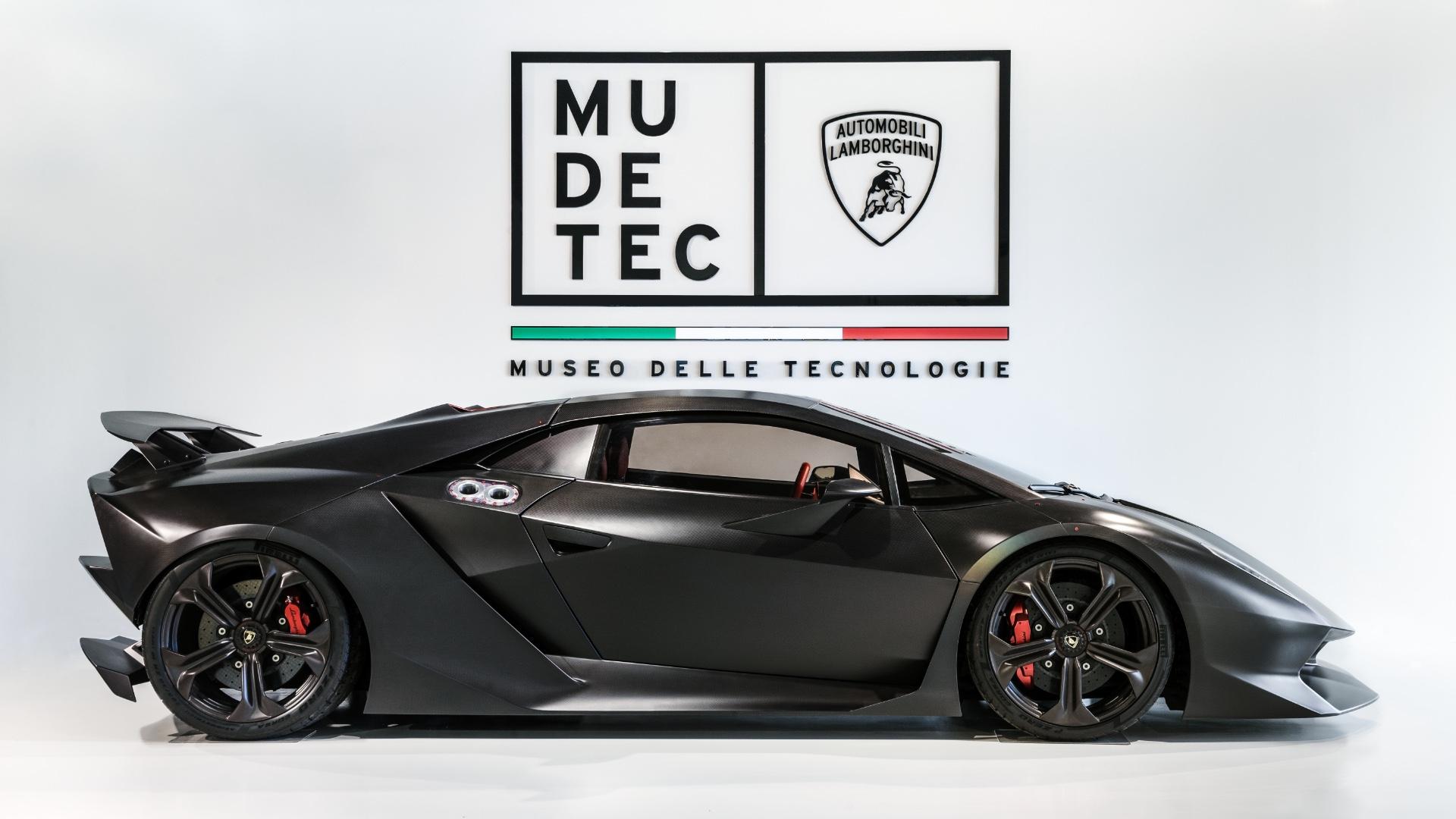 Il Museo Lamborghini si rinnova. Nasce il MUDETEC, il Museo delle Tecnologie.