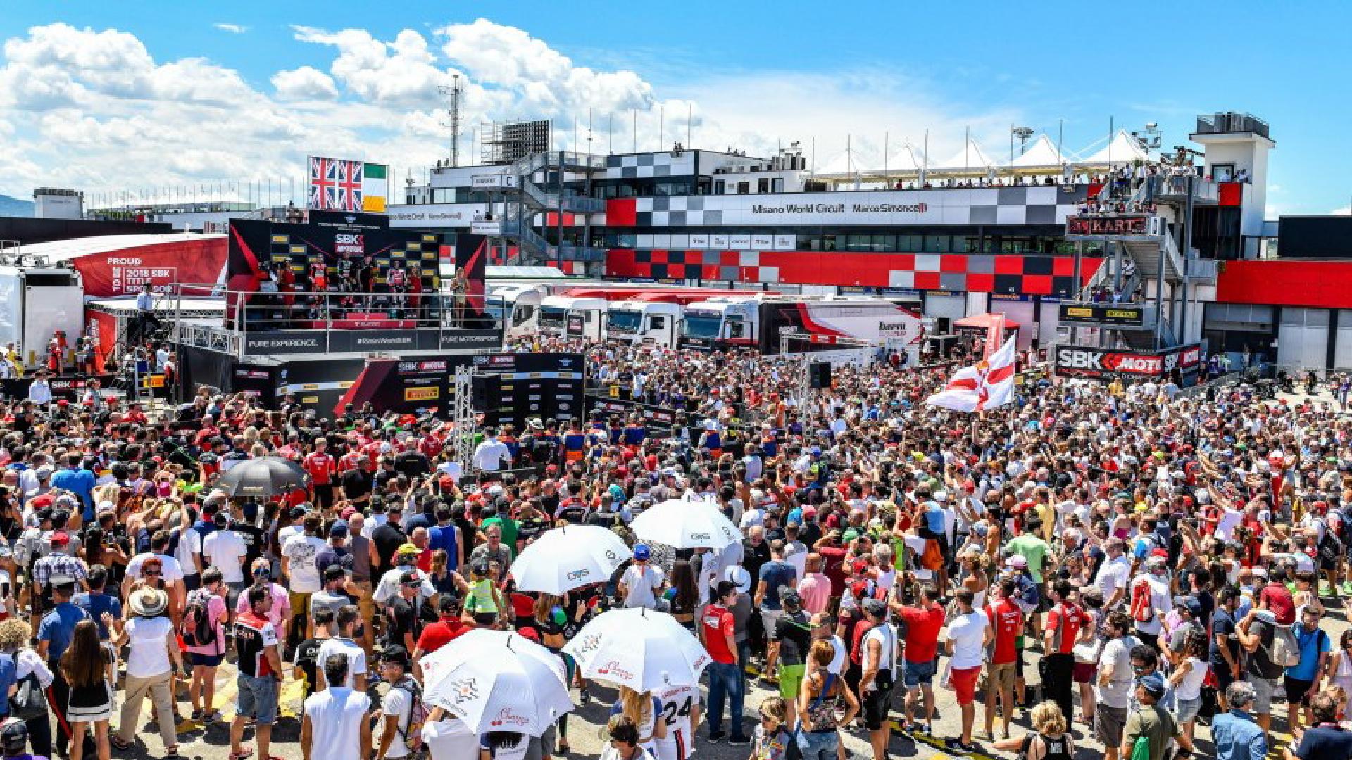 Pata Riviera di Rimini Round: a Misano la settima prova del Mondiale Superbike.