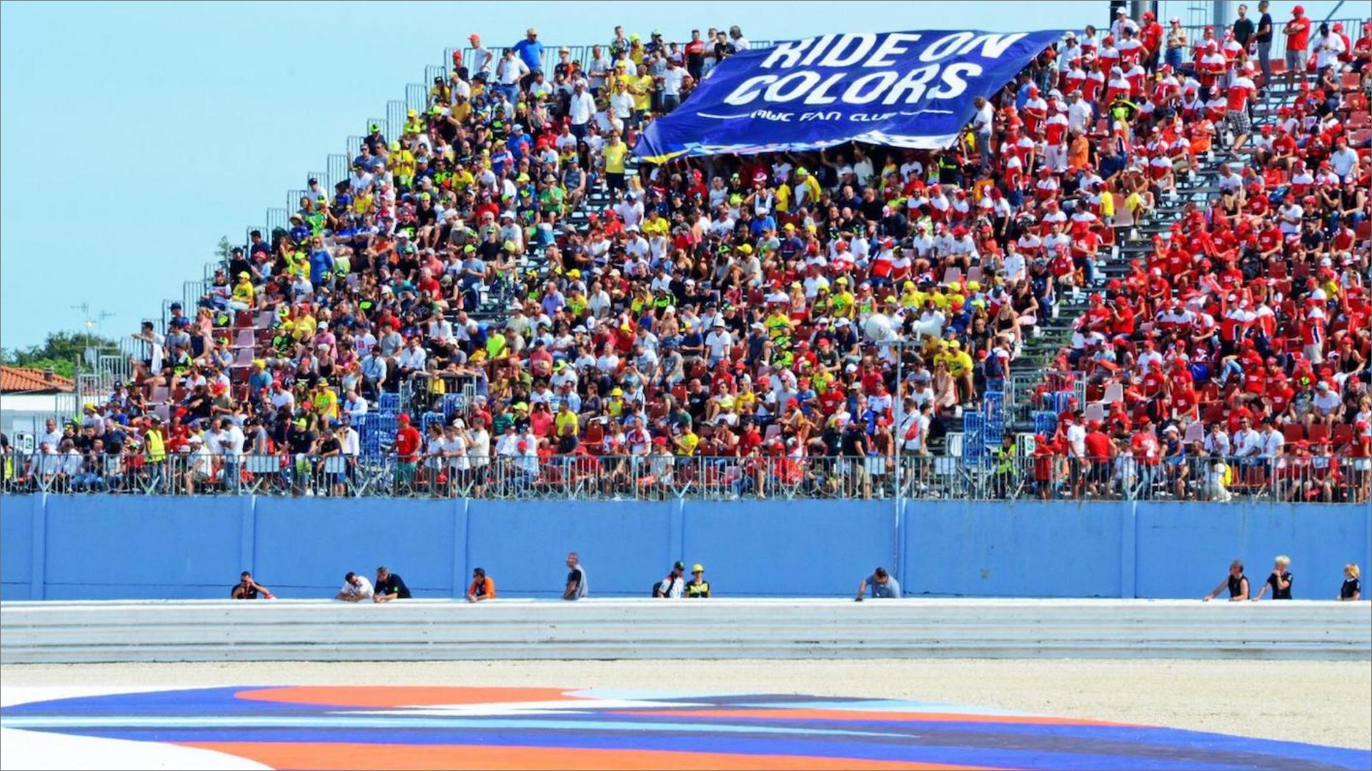 Quasi 160.000 spettatori nel weekend del GP Octo di San Marino e della Riviera di Rimini.