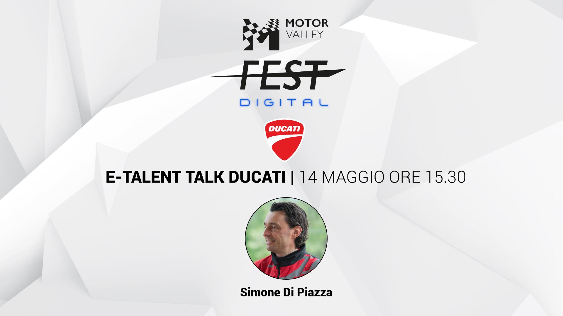 E-Talent Talk - Ducati