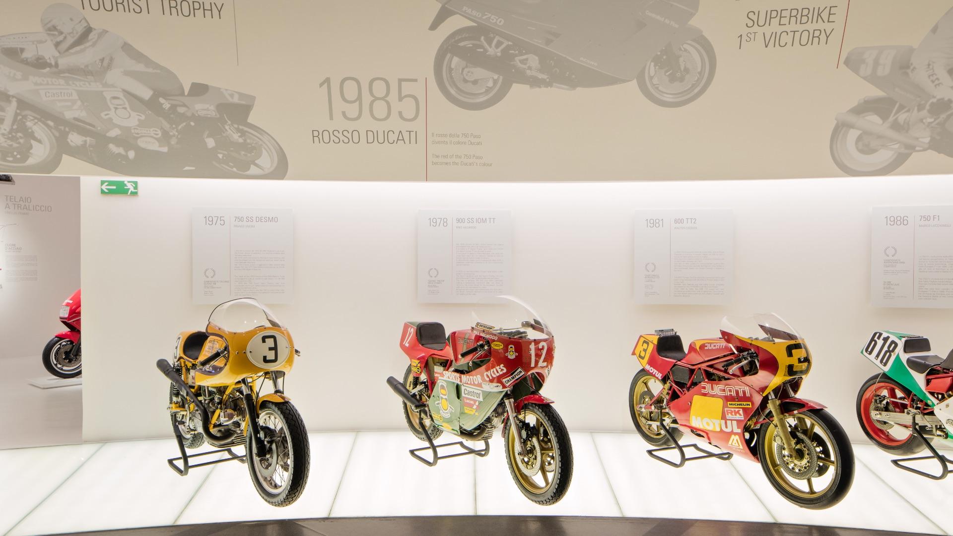 Motor Valley virtual tour: visita il Museo Ducati.