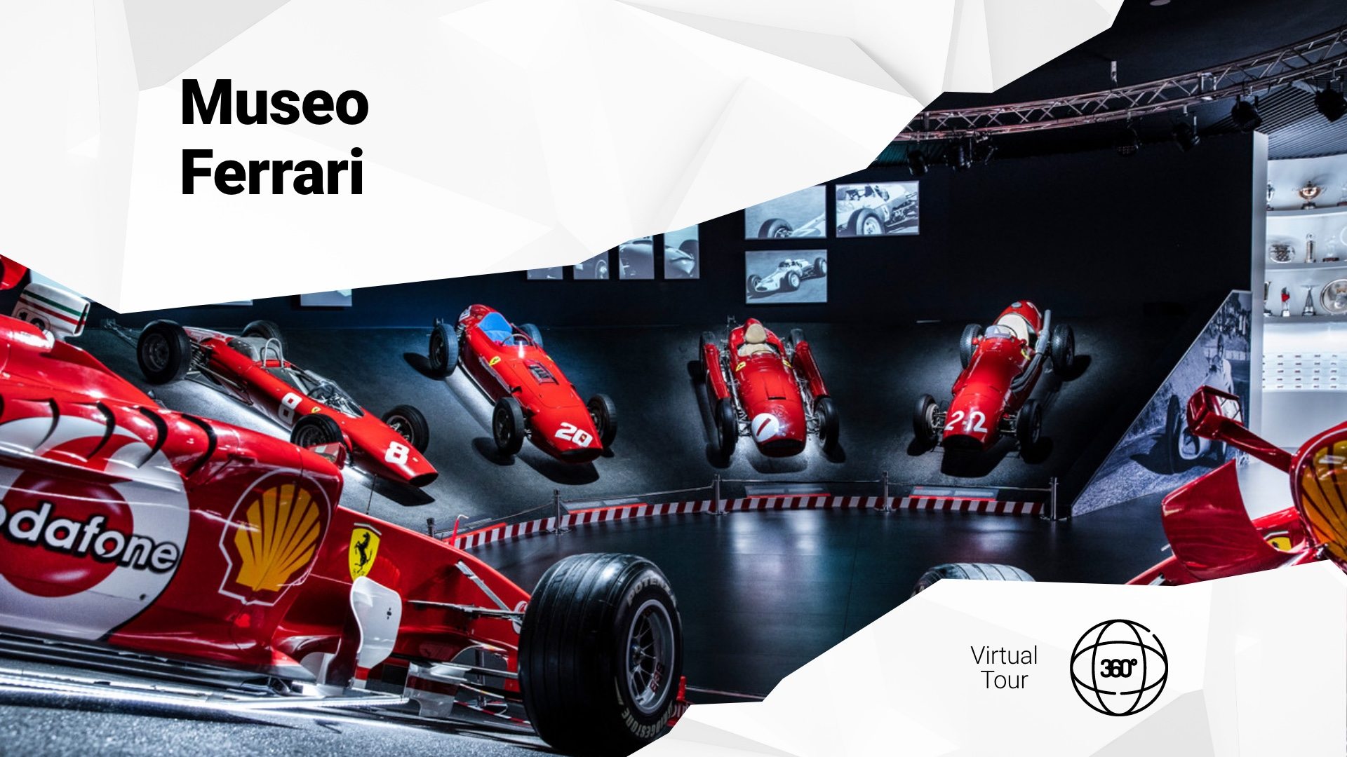 Motor Valley virtual tour: visit the Ferrari Museum.