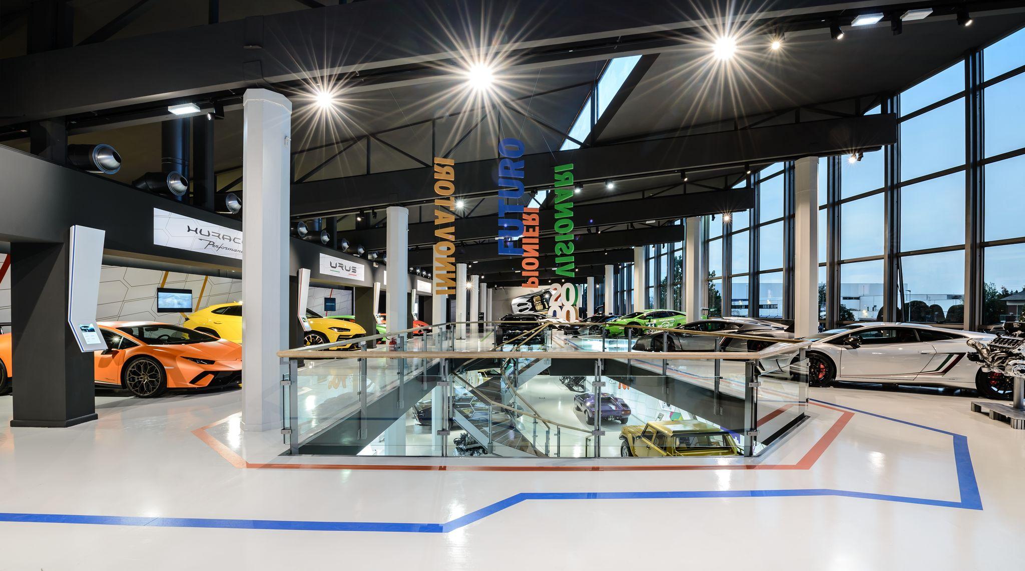 Motor Valley virtual tour: visita il Museo Lamborghini MUDETEC.