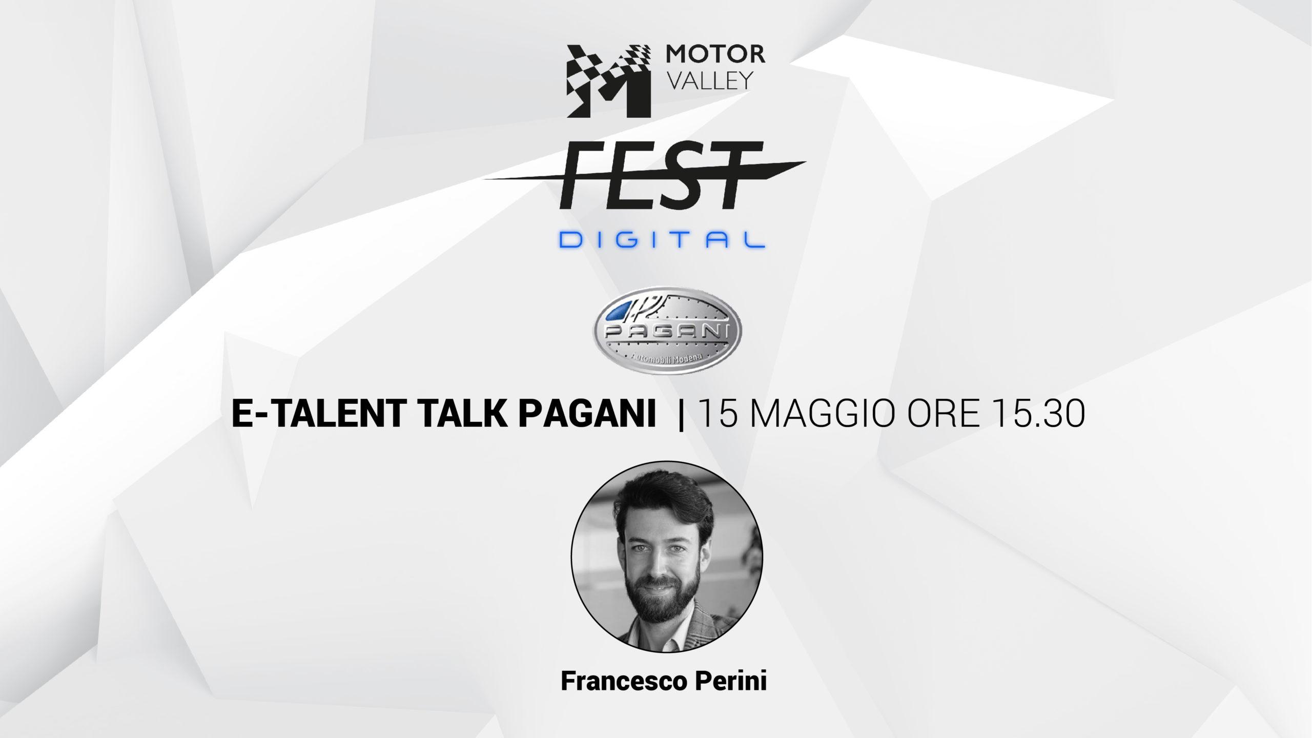 E-Talent Talk - Pagani