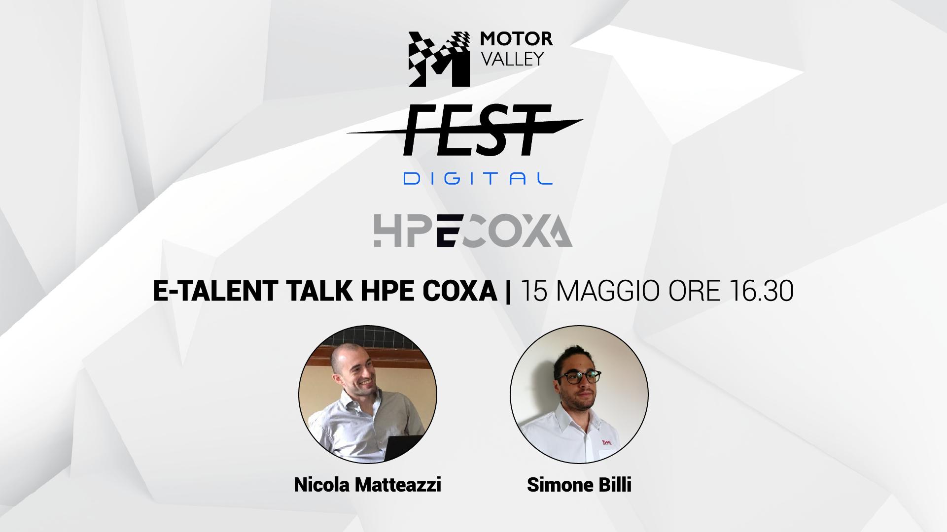 E-Talent Talk - HPE COXA