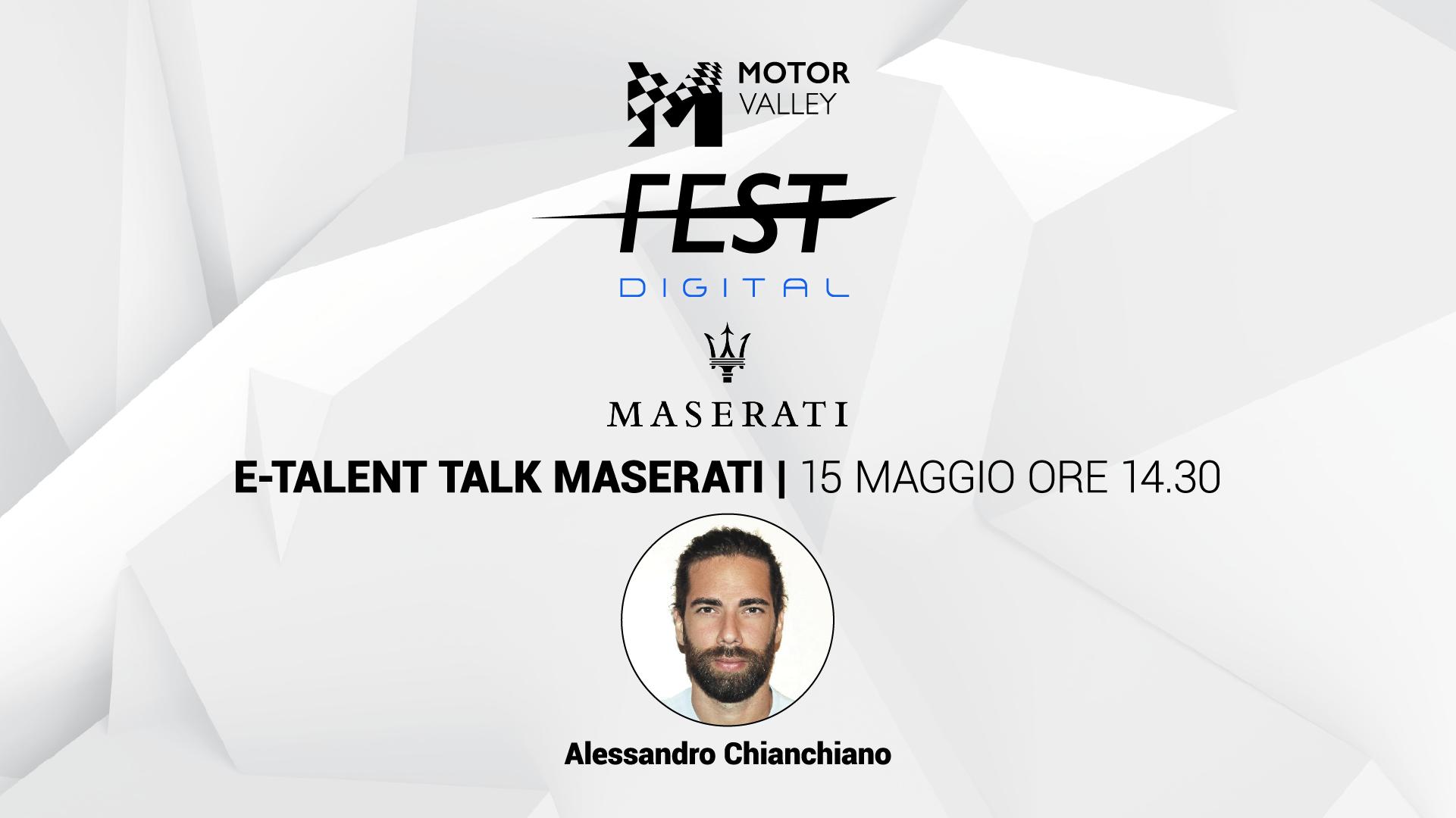 E-Talent Talk - Maserati