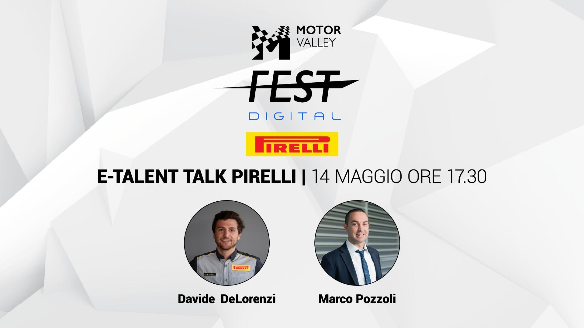 E-Talent Talk - Pirelli