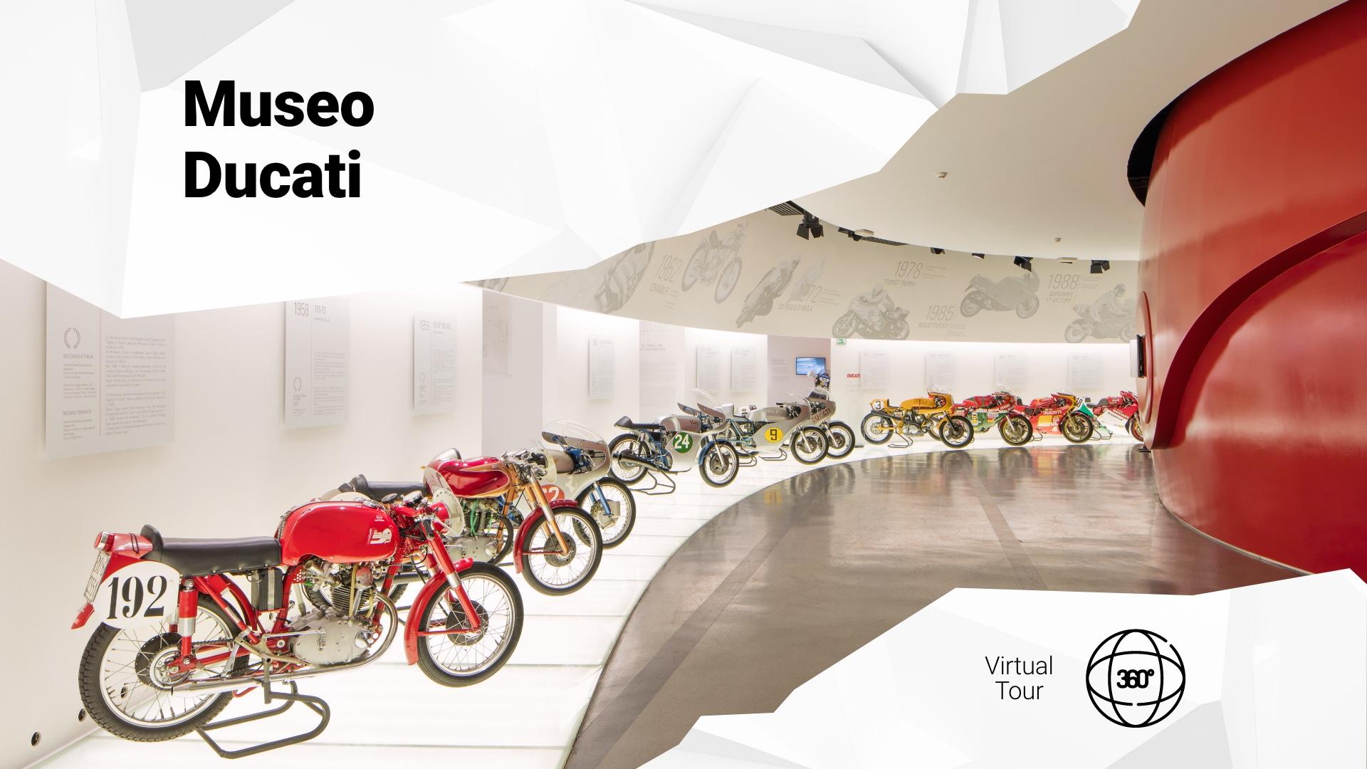 Motor Valley virtual tour: visit the Ducati Museum.
