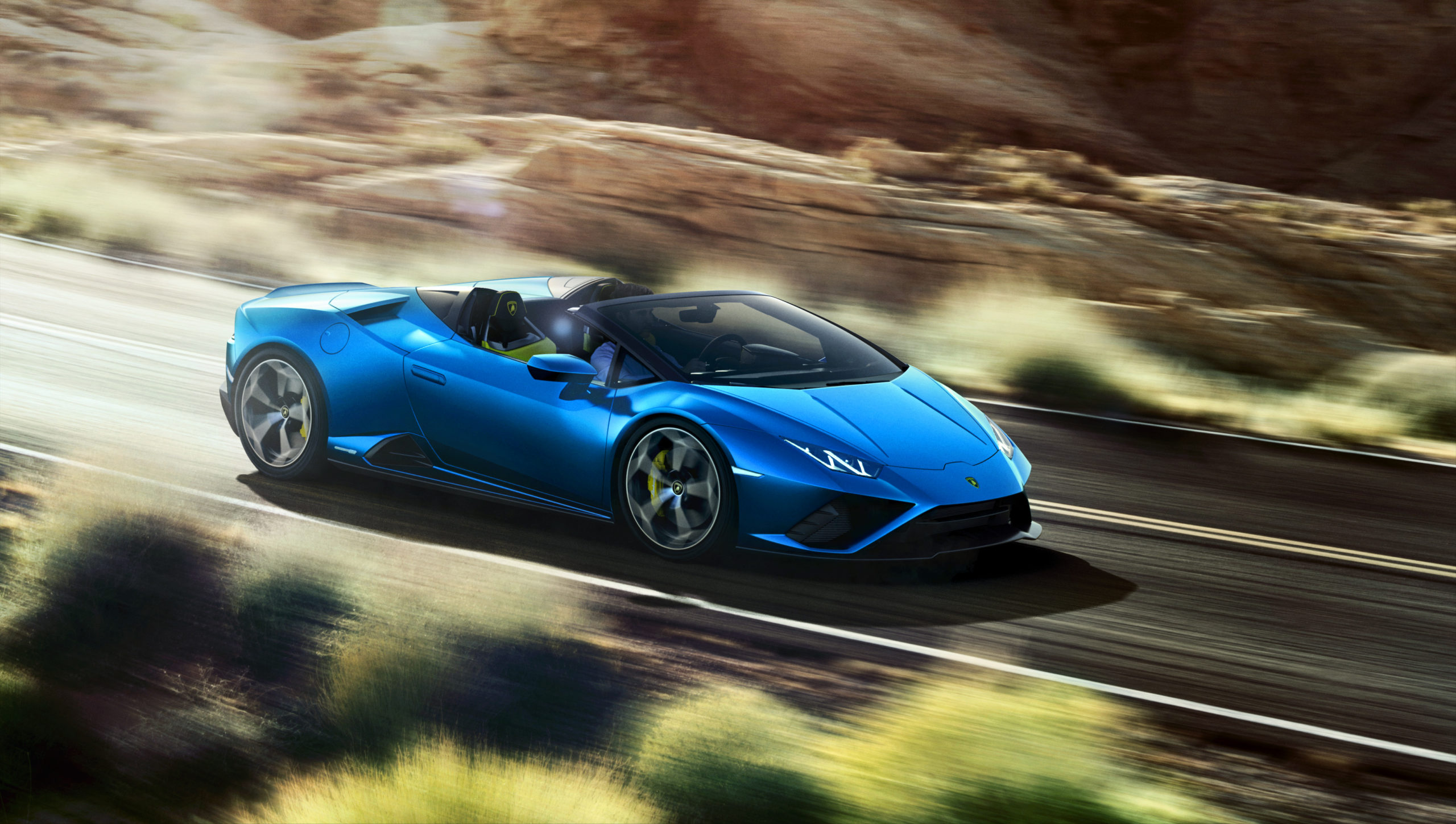 Lamborghini Huracan EVO RWD Spyder.