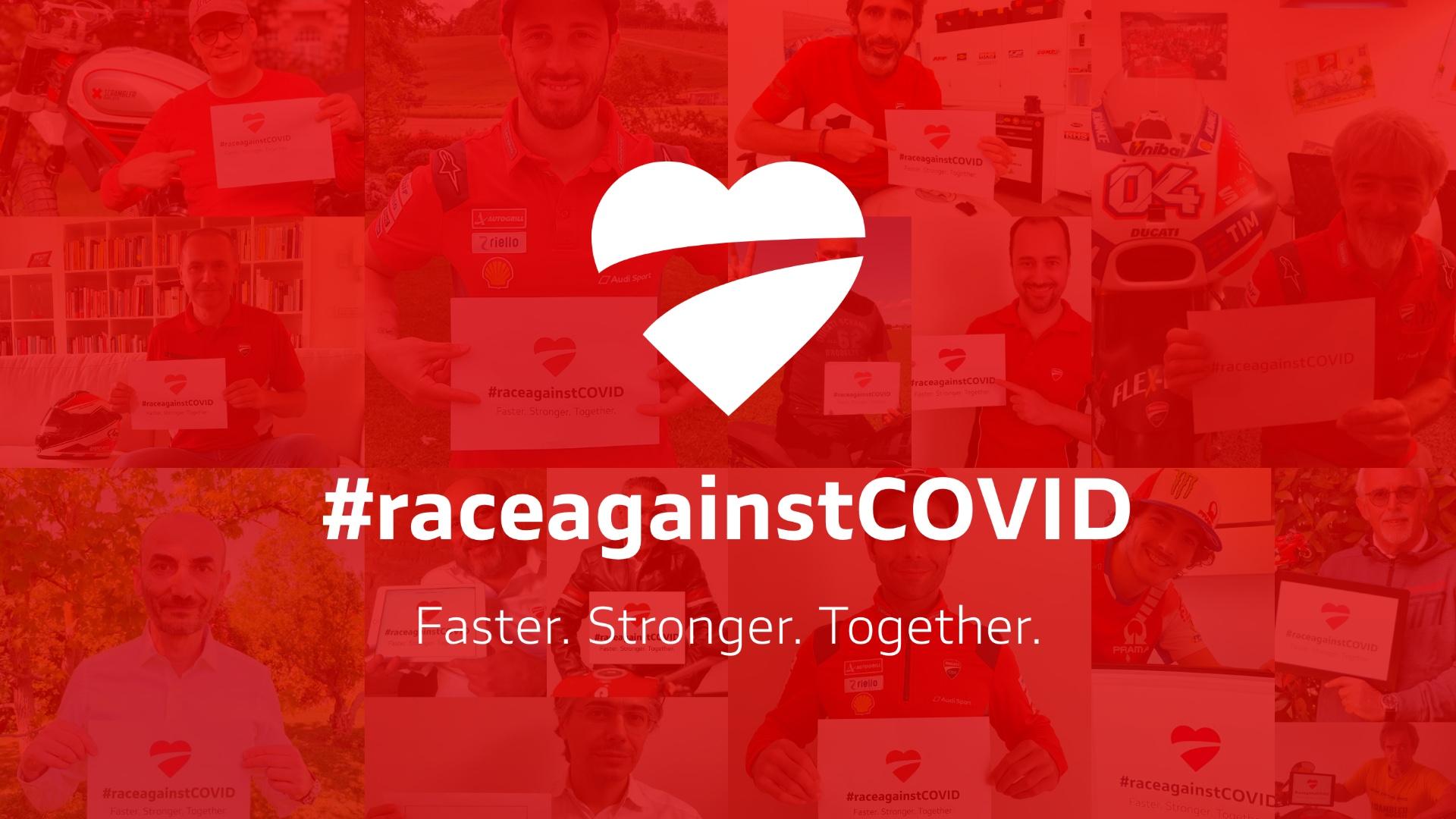 Ducati lancia #raceagainstCovid: una raccolta fondi per supportare il Policlinico di S. Orsola di Bologna.