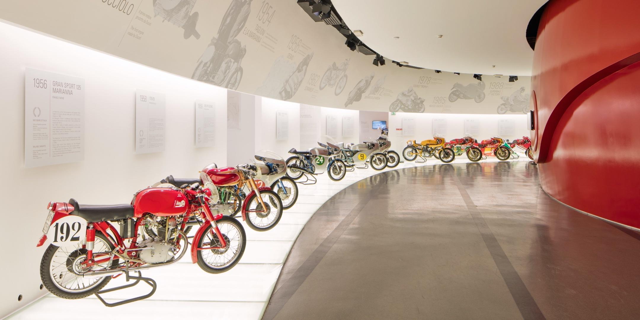 Visita guidata al Museo Ducati