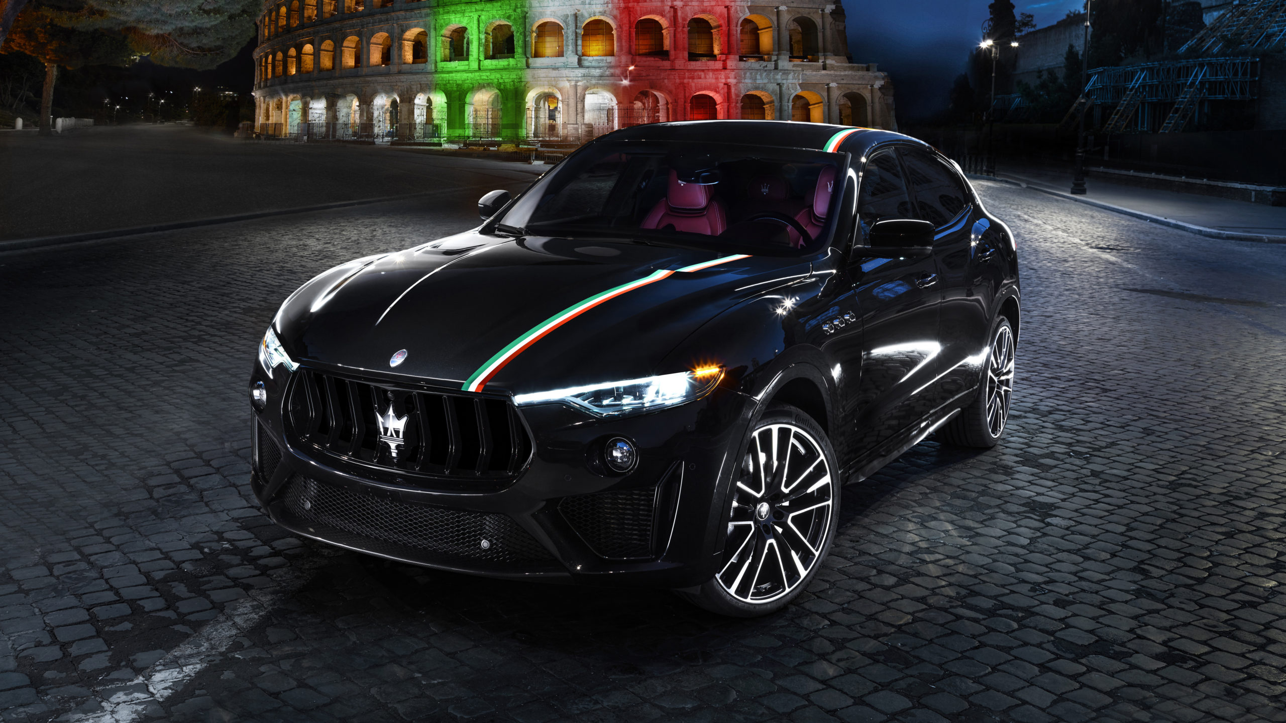 Maserati Levante Trofeo and GTS, special livery for the V8