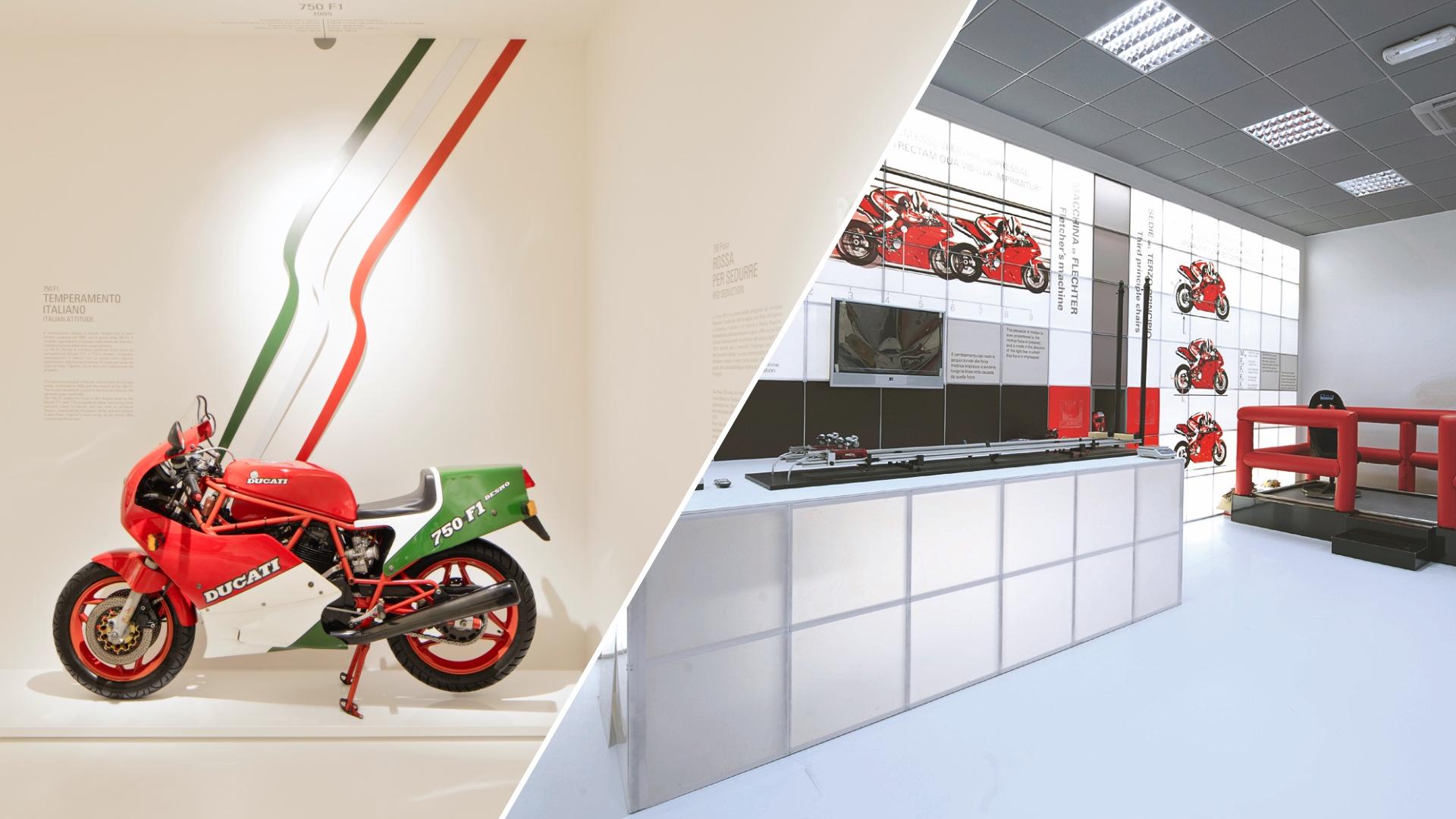 Borgo Panigale Experience: Ducati riapre il Museo e il Laboratorio di Fisica in Moto.