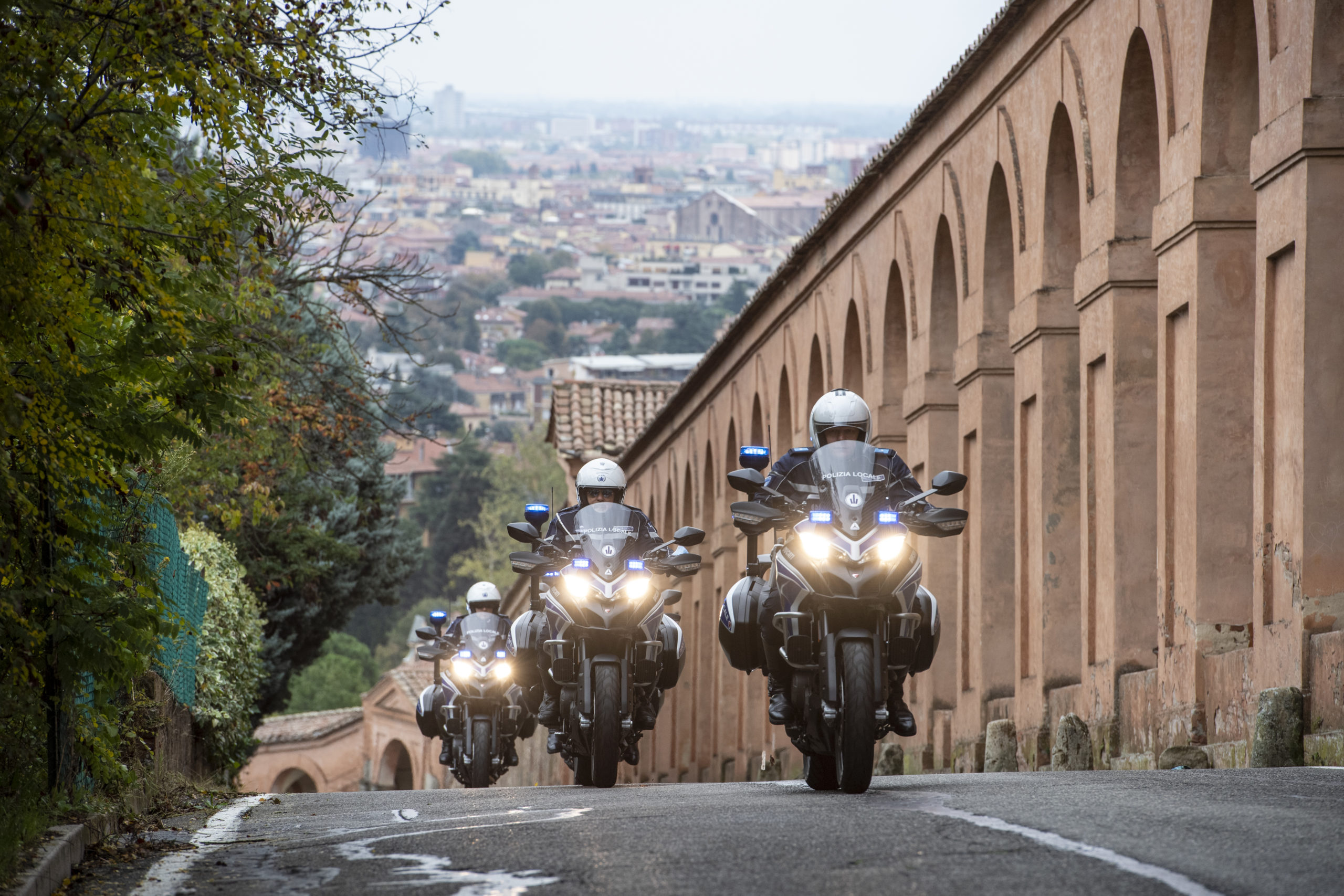 Ducati Multistrada, 25 for the Bologna Local Police